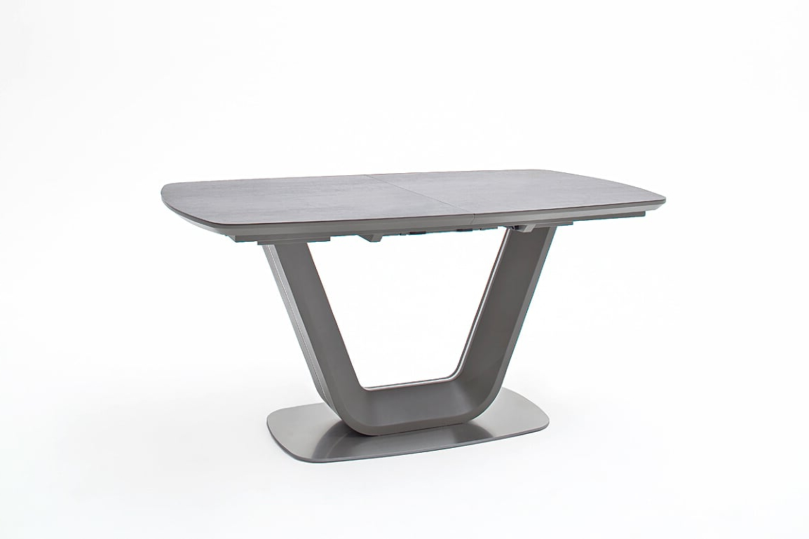 Jarrod Grey And Anthracite Ceramic Extending Dining Table 160Cm With Regard To Famous Jarrod 5 Piece Dining Sets (Gallery 12 of 25)