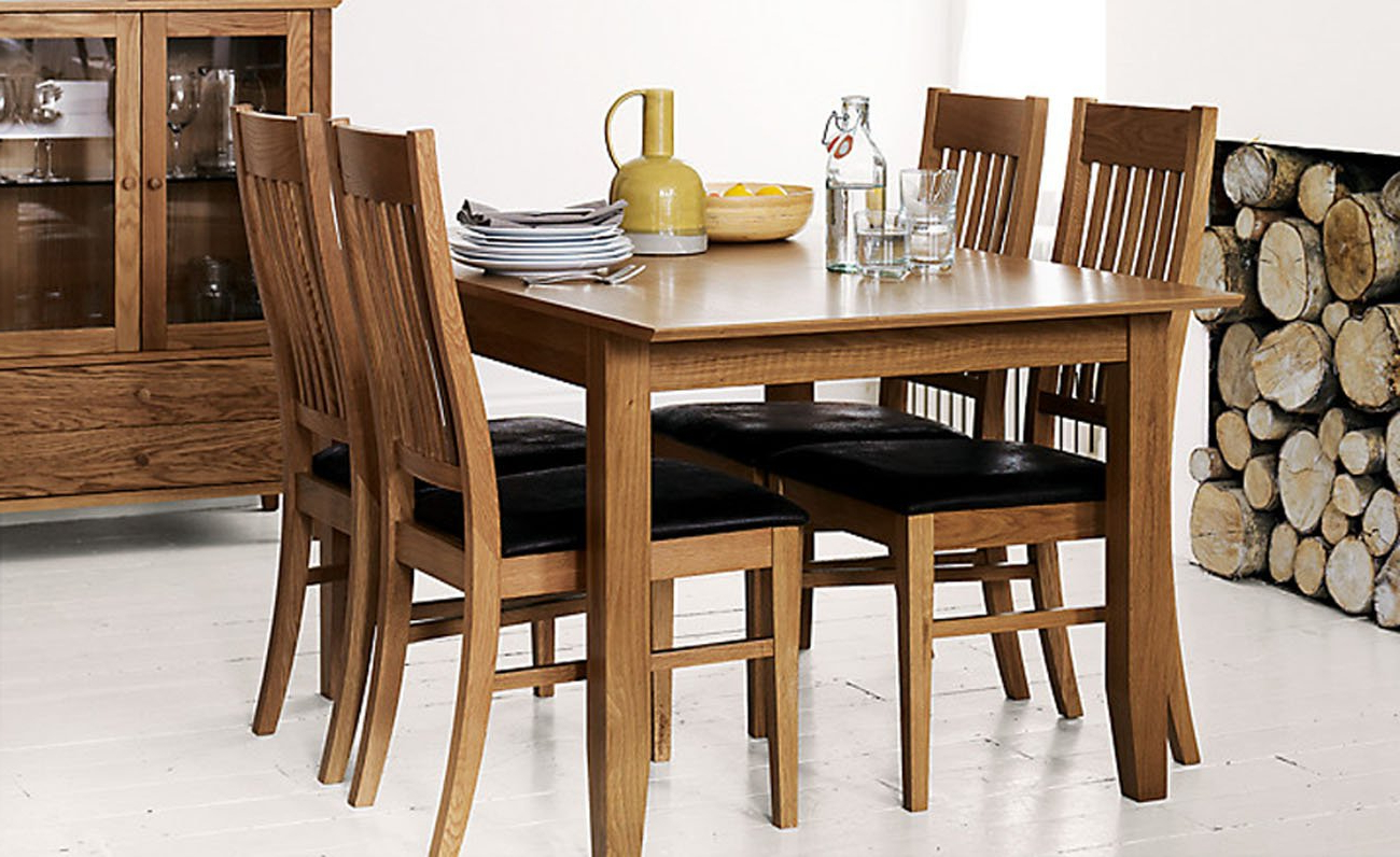John 4 Piece Dining Sets Regarding Well Known John Lewis Ellis Small Extending Dining Table And 4 Chairs Set (View 15 of 25)