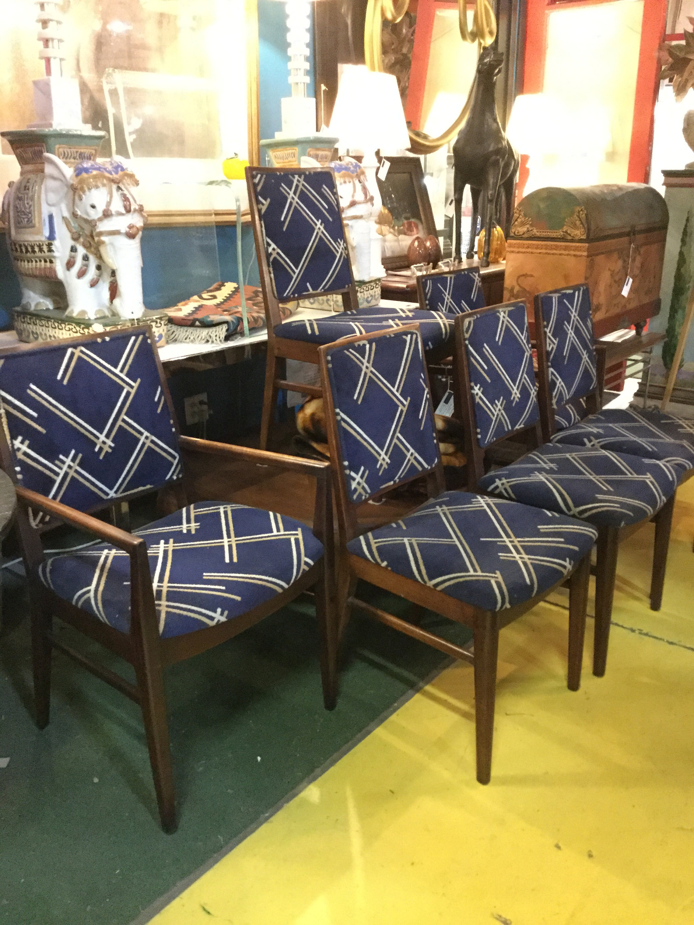 John 4 Piece Dining Sets Within Favorite Set Of Six 2 Arm Chairs 4 Side Chairs Original John Stuart Dining (View 12 of 25)
