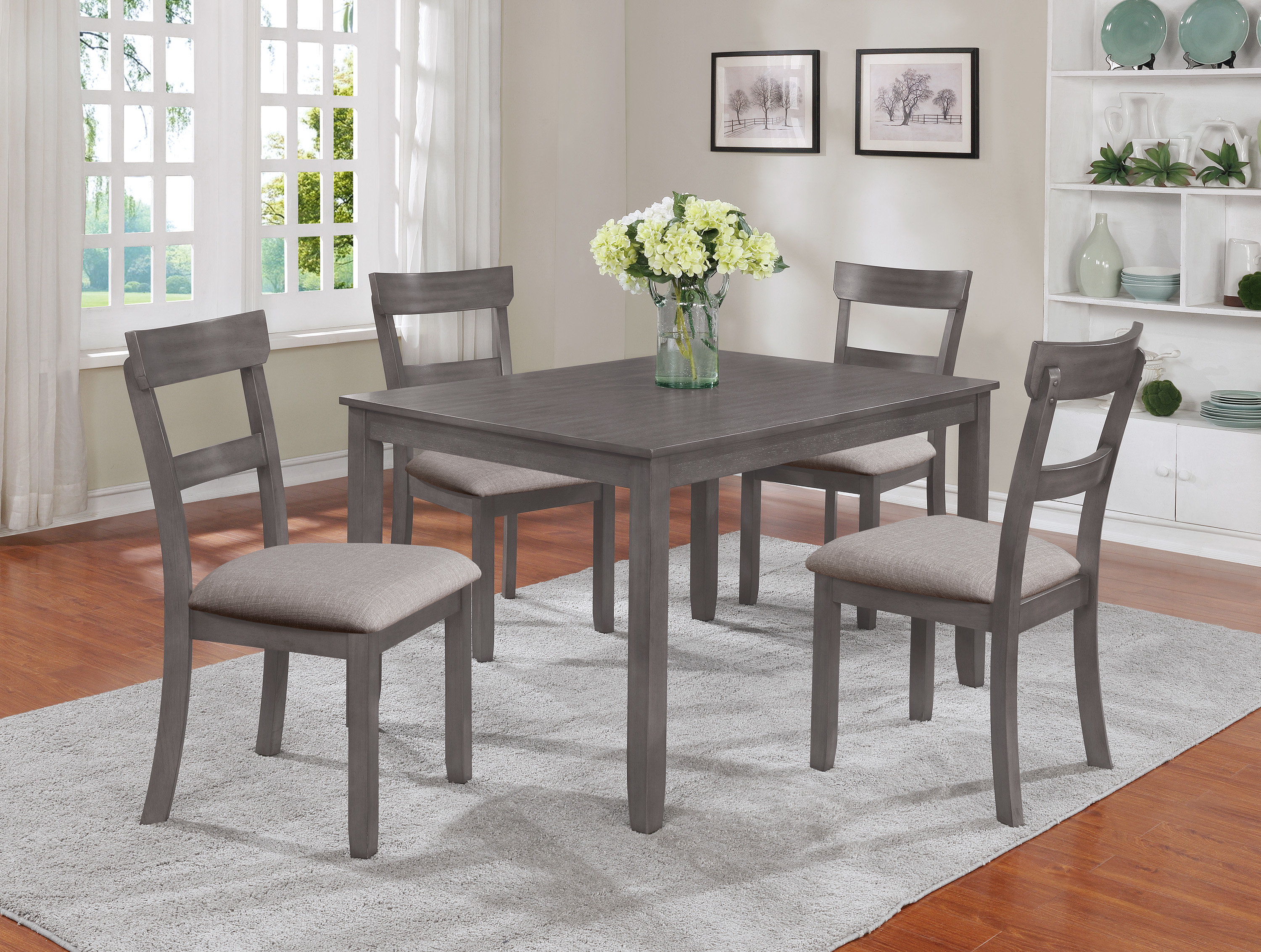 Joss & Main For Favorite Tejeda 5 Piece Dining Sets (Gallery 16 of 25)