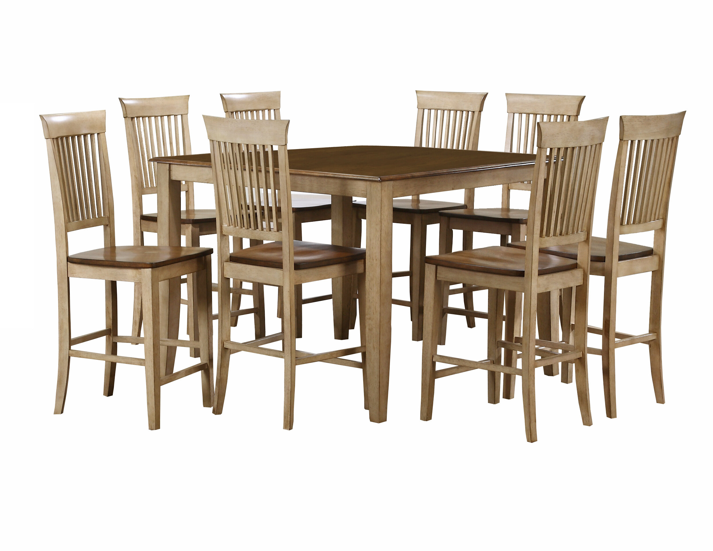Joss & Main Inside Best And Newest Goodman 5 Piece Solid Wood Dining Sets (Set Of 5) (View 11 of 25)