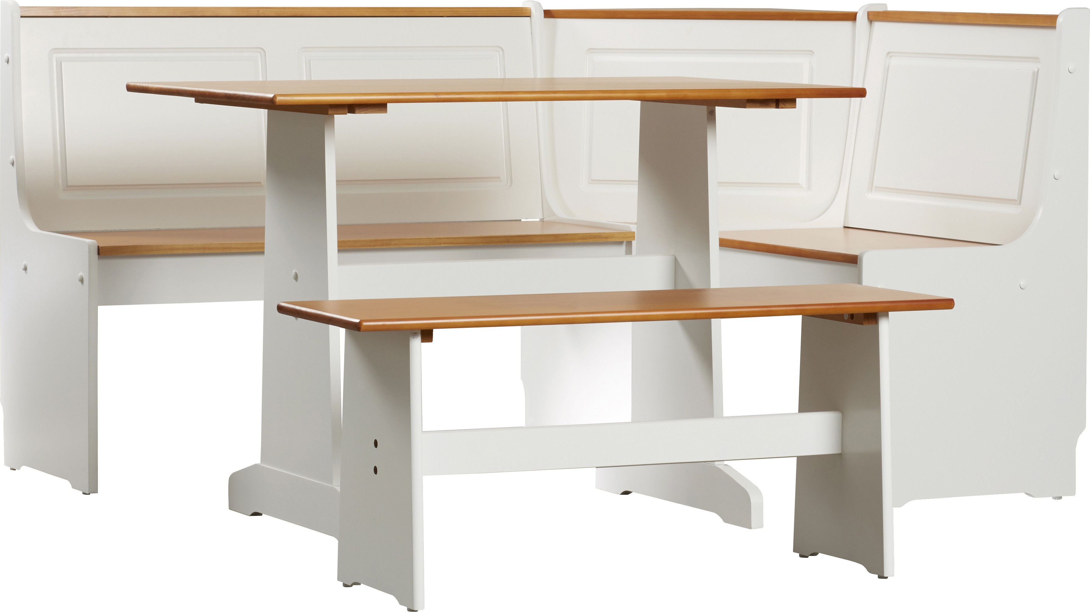 Joss & Main Pertaining To Well Known 3 Piece Breakfast Nook Dinning Set (Gallery 13 of 25)
