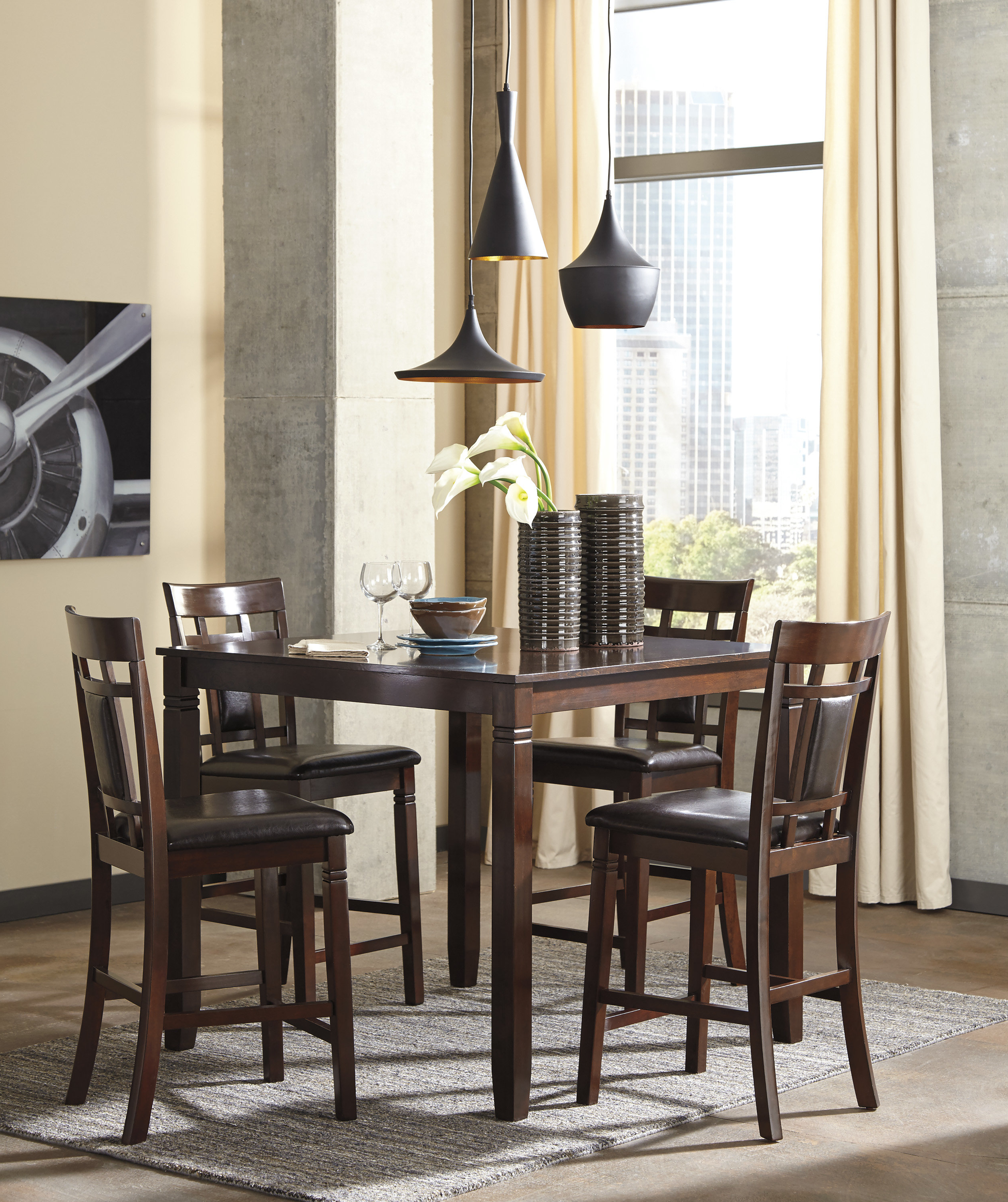 Joss & Main Throughout 2020 Bettencourt 3 Piece Counter Height Dining Sets (Gallery 22 of 25)