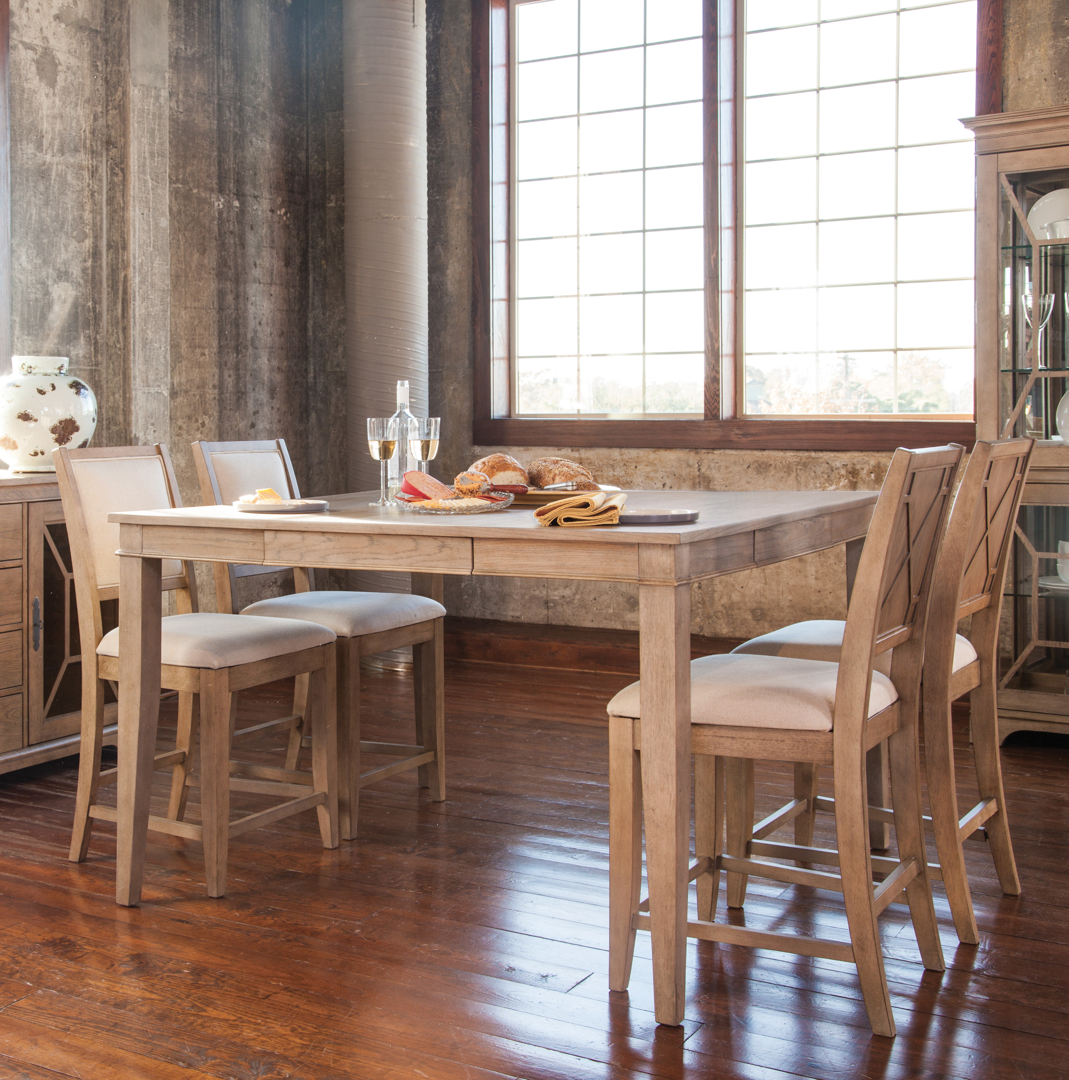 Kaya 3 Piece Dining Sets With Favorite Ophelia & Co (View 16 of 25)