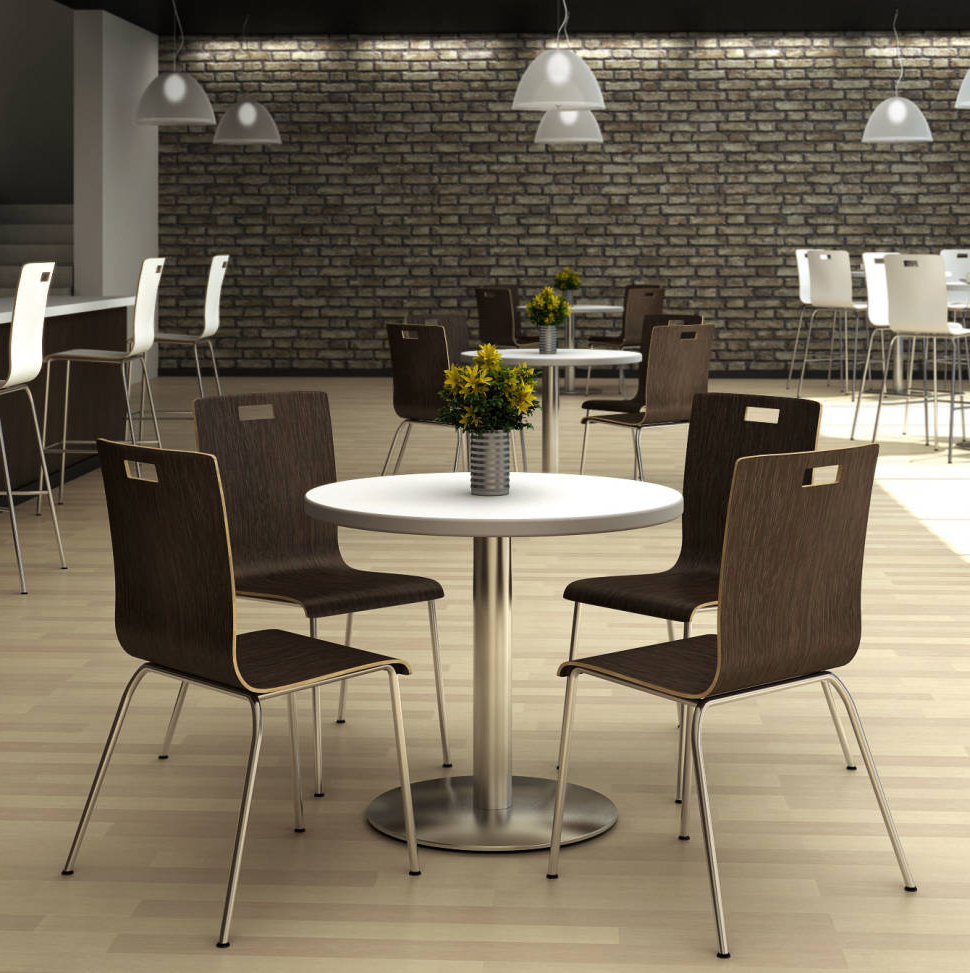 Kfi Seating 5 Piece Dining Set & Reviews (Gallery 12 of 25)