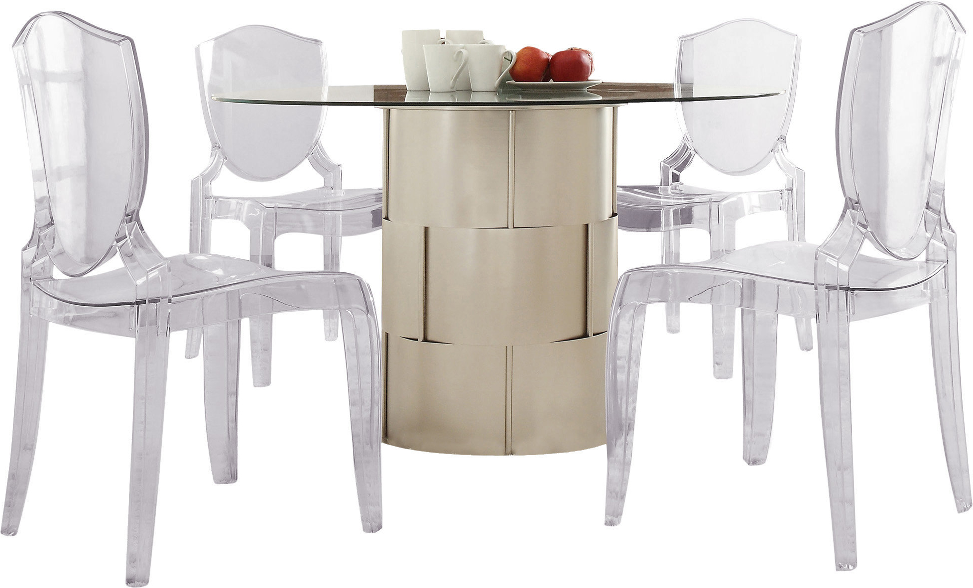 Kingstown Home Emanuella 5 Piece Dining Set (Gallery 9 of 25)