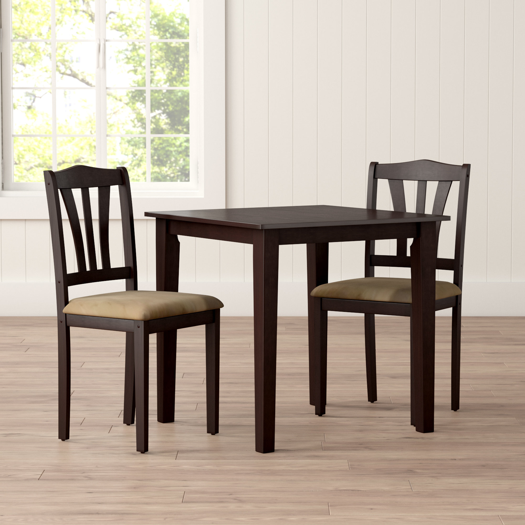Kinsler 3 Piece Bistro Sets In Newest Alcott Hill Dinah 3 Piece Dining Set & Reviews (View 5 of 25)
