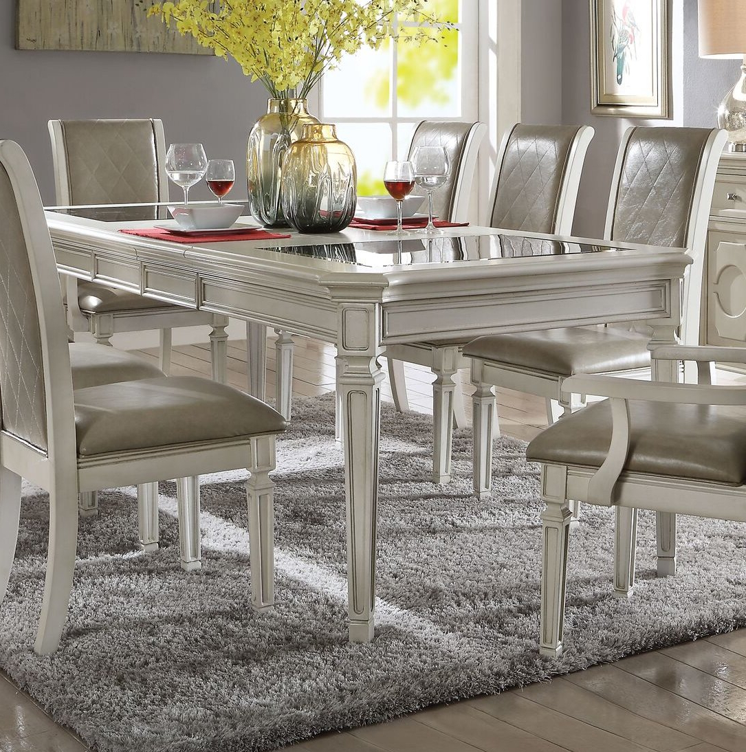 Lamotte 5 Piece Dining Sets With Regard To Famous One Allium Way Lamotte Dining Table (View 2 of 25)