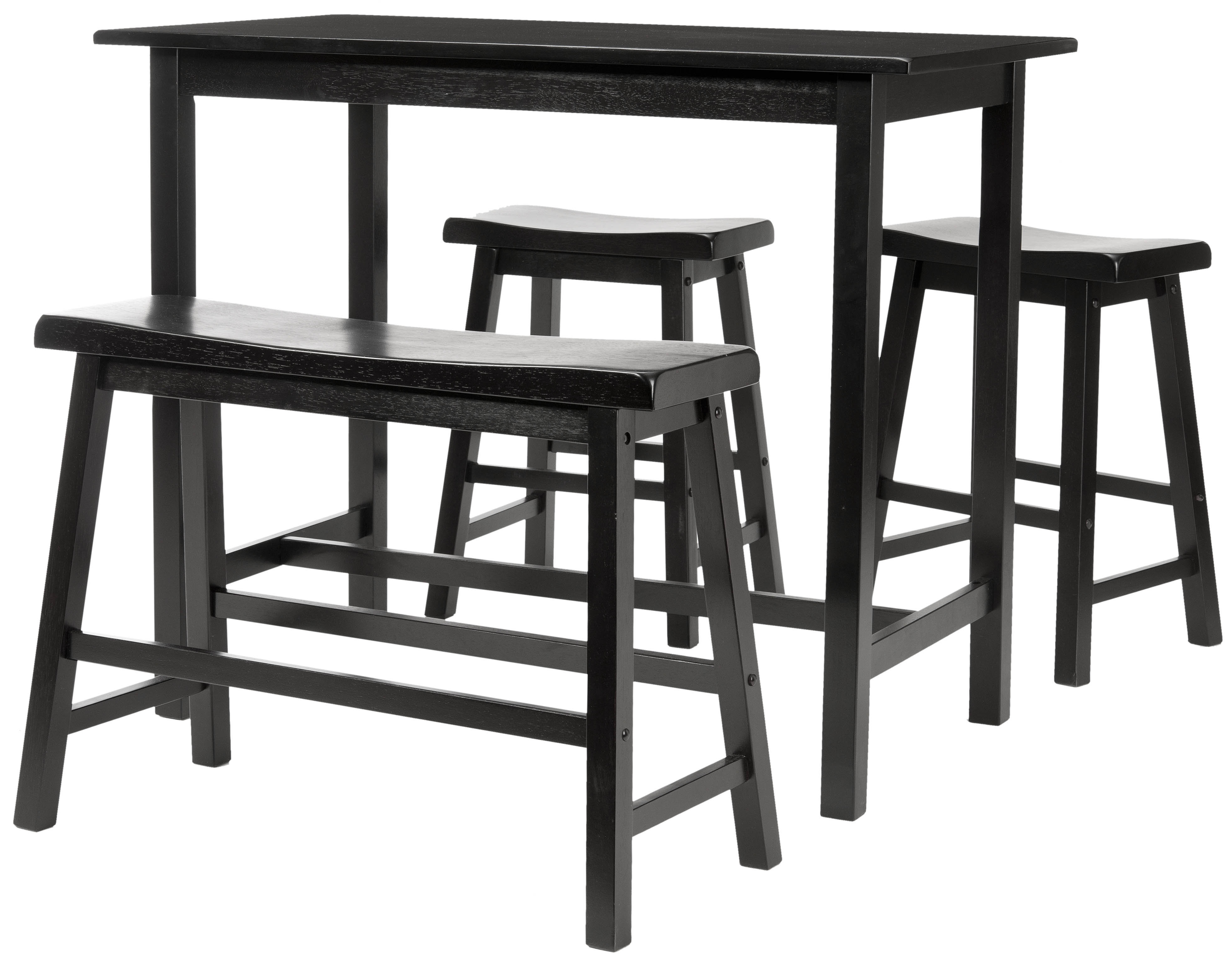Latest Kerley 4 Piece Dining Sets Regarding Chelsey 4 Piece Dining Set & Reviews (View 12 of 25)