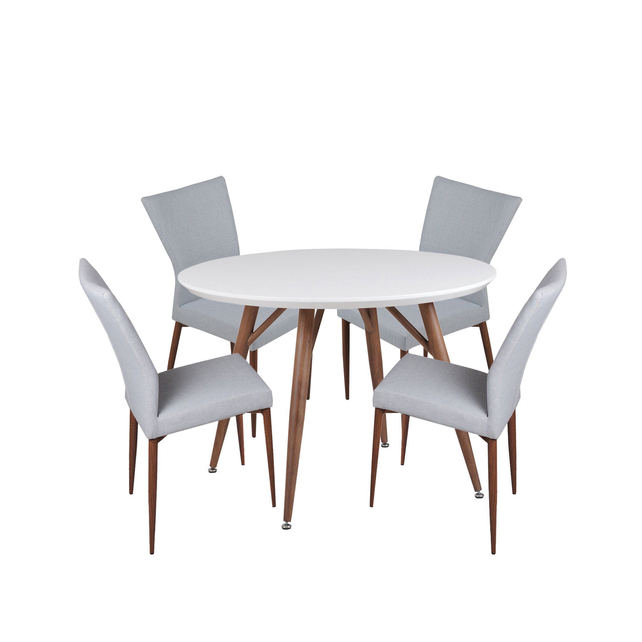 Liles 5 Piece Breakfast Nook Dining Sets With Most Recently Released Corrigan Studio Brandyn 5 Piece Breakfast Nook Dining Set (View 3 of 25)