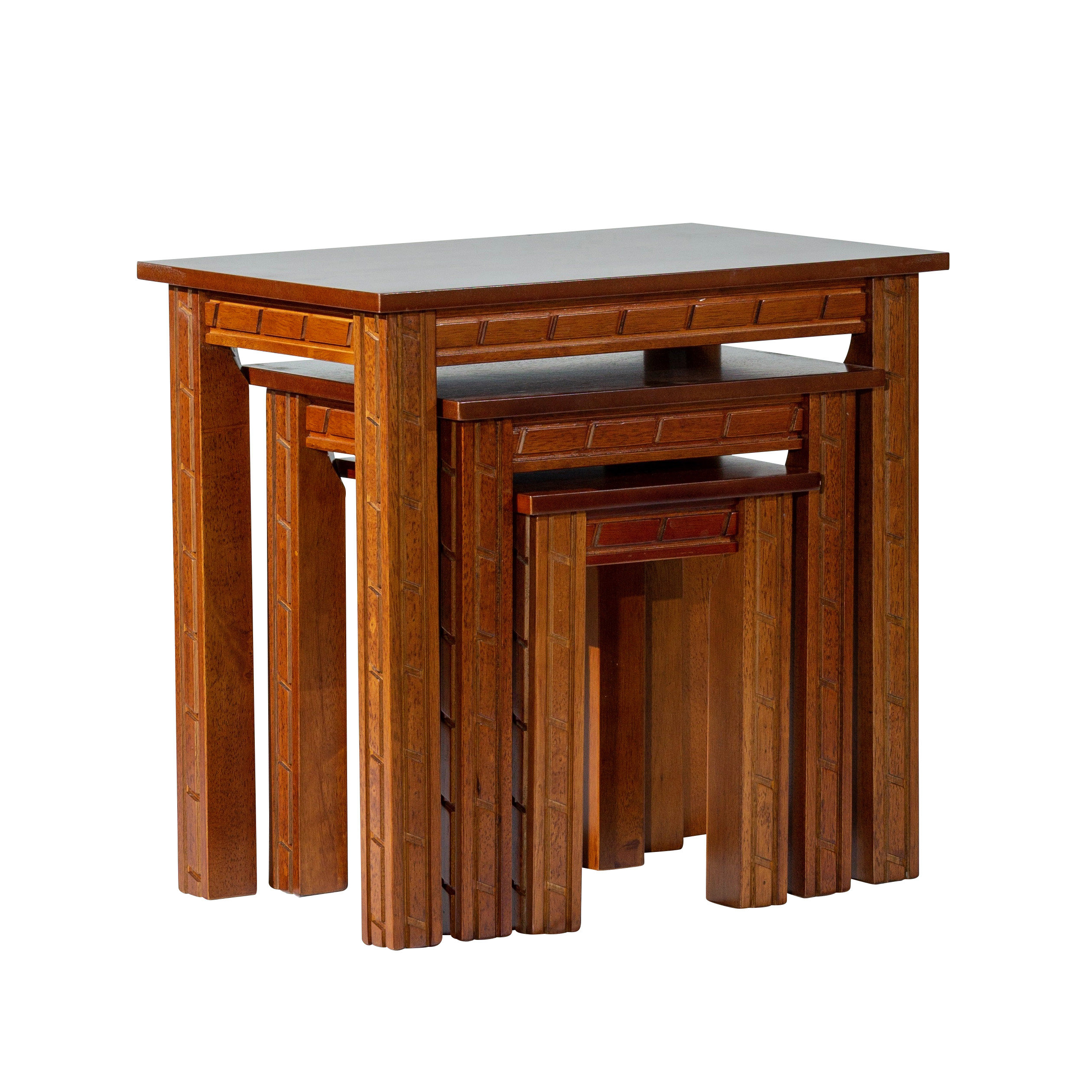 Millwood Pines Castellanos Furniture 3 Piece Nesting Tables (View 3 of 25)