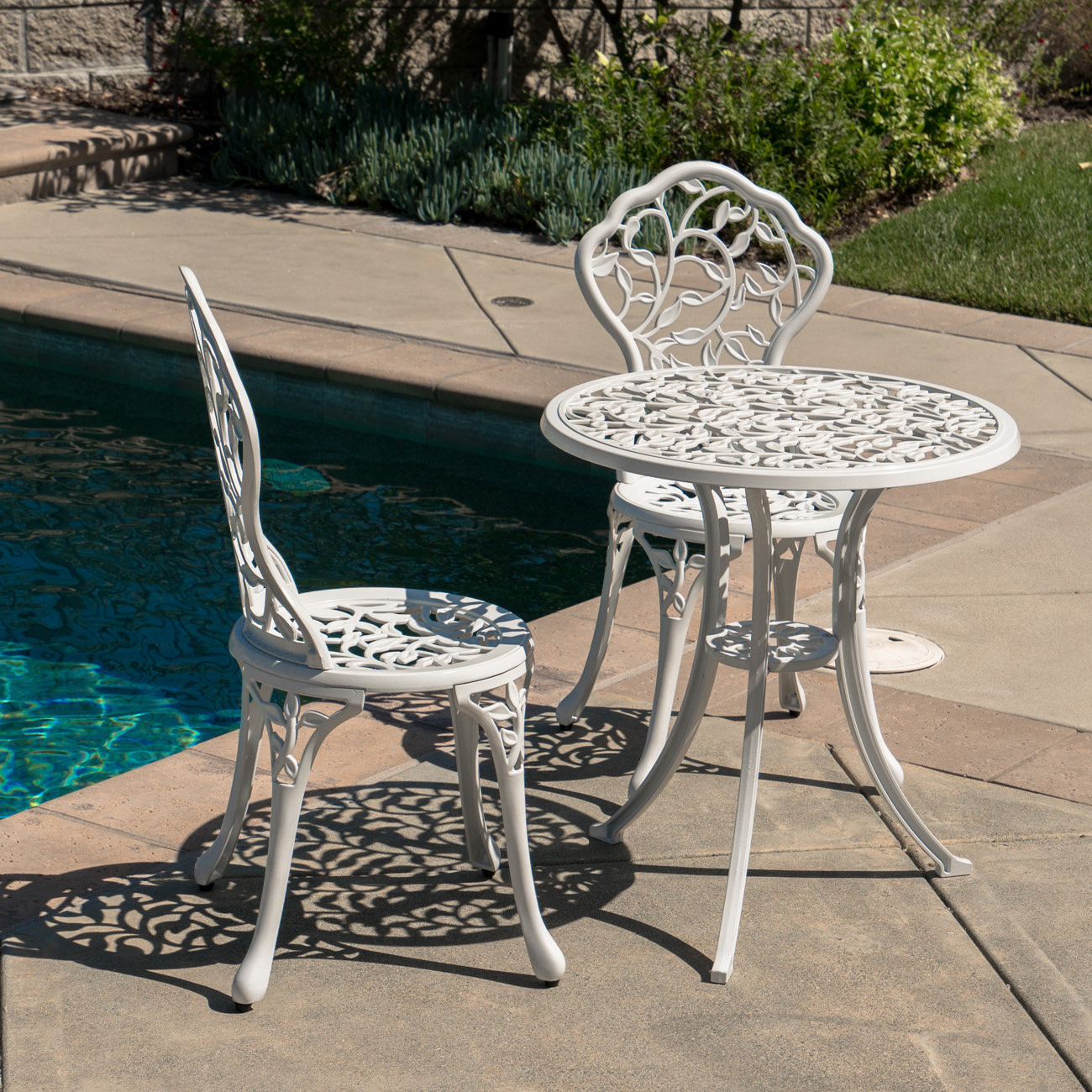 Miskell 3 Piece Dining Sets Throughout Recent 3 Piece Bistro Set (View 11 of 25)