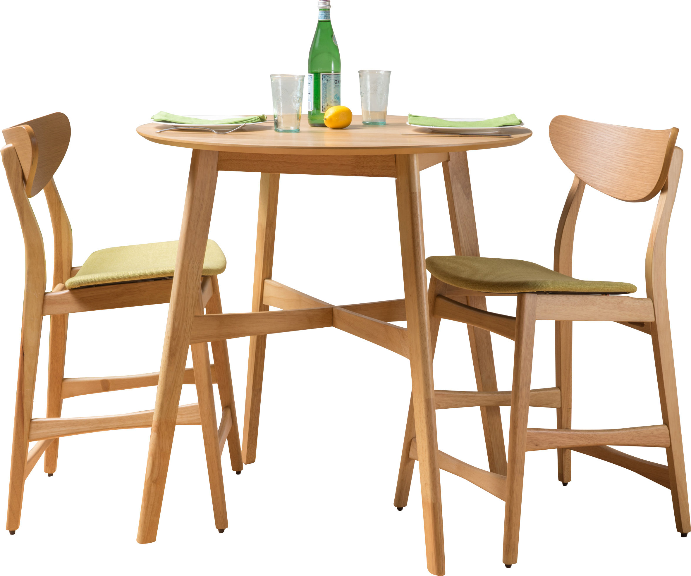 Most Current Shepparton Vintage 3 Piece Dining Sets Inside Langley Street Denver 3 Piece Dining Set (View 12 of 25)