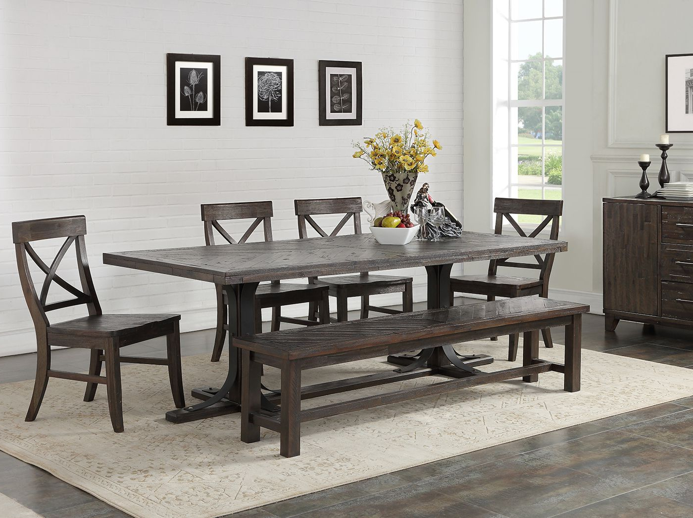 Most Popular Aria 5 Piece Dining Sets For Direct Designs® Aria 5 Pc (View 3 of 25)