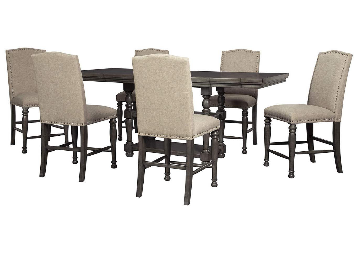 Most Popular Berrios 3 Piece Counter Height Dining Sets Throughout Ashley Furniture Homestore – Independently Owned And Operated (View 10 of 25)