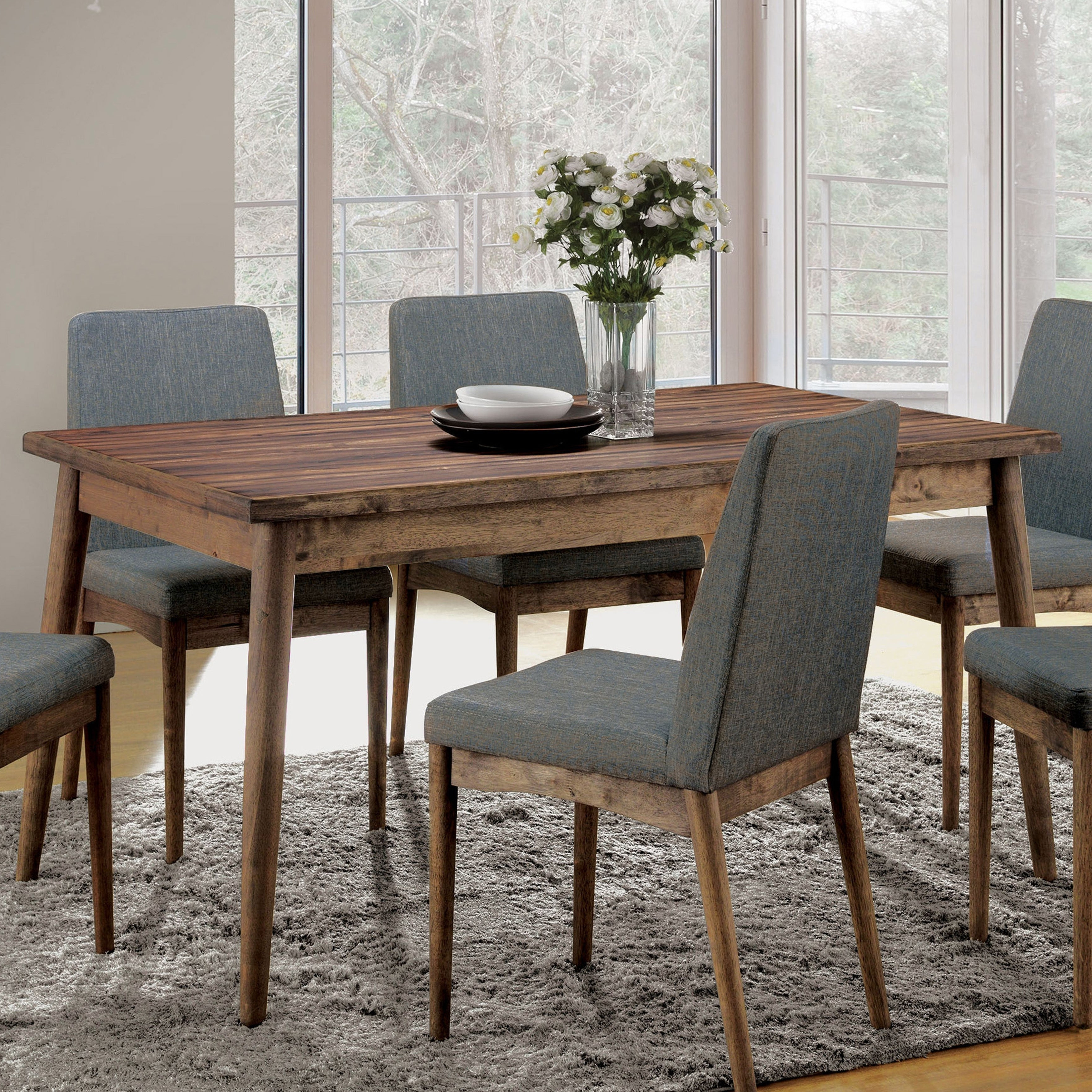 Most Popular Buy Furniture Of America Kitchen & Dining Room Tables Online At For Biggs 5 Piece Counter Height Solid Wood Dining Sets (Set Of 5) (View 25 of 25)