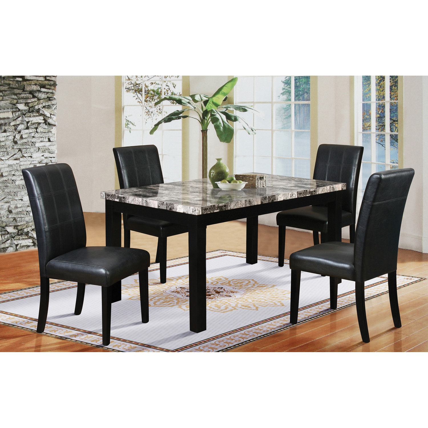 Most Recent Cargo 5 Piece Dining Sets With Regard To Latitude Run Cahill 5 Piece Dining Set Reviews (View 19 of 25)