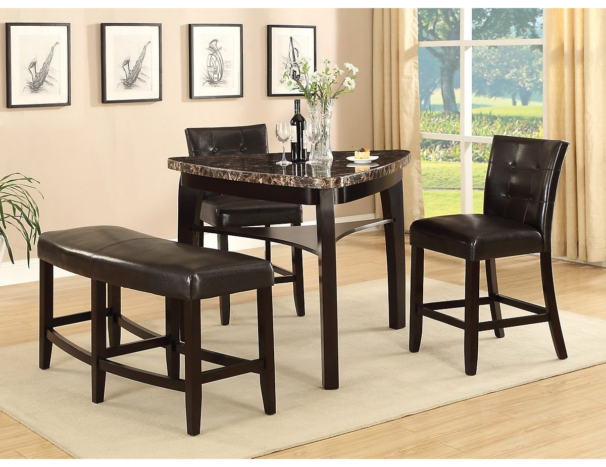 Most Recent Cypress 4 Piece Counter Height Pub Style Dining Package, (Cyprespk4 For Hood Canal 3 Piece Dining Sets (View 13 of 25)