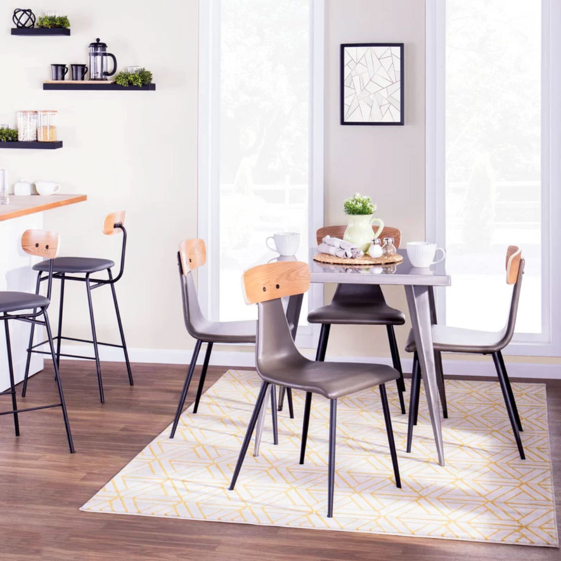 Most Recent Dining Tables For Small Spaces – Small Spaces – Lonny Pertaining To Taulbee 5 Piece Dining Sets (View 15 of 25)