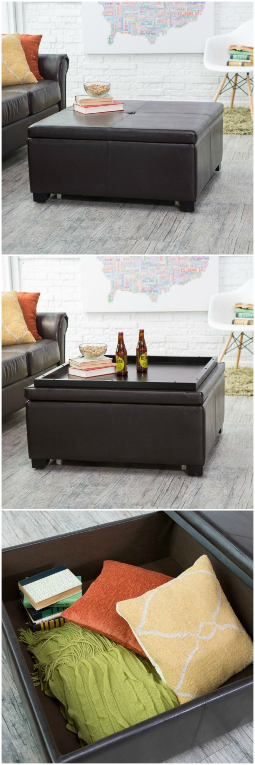 Most Recent Rarick 5 Piece Solid Wood Dining Sets (Set Of 5) Regarding This Ottoman Can Be Used For Storage And As A Coffee Table When (View 8 of 25)
