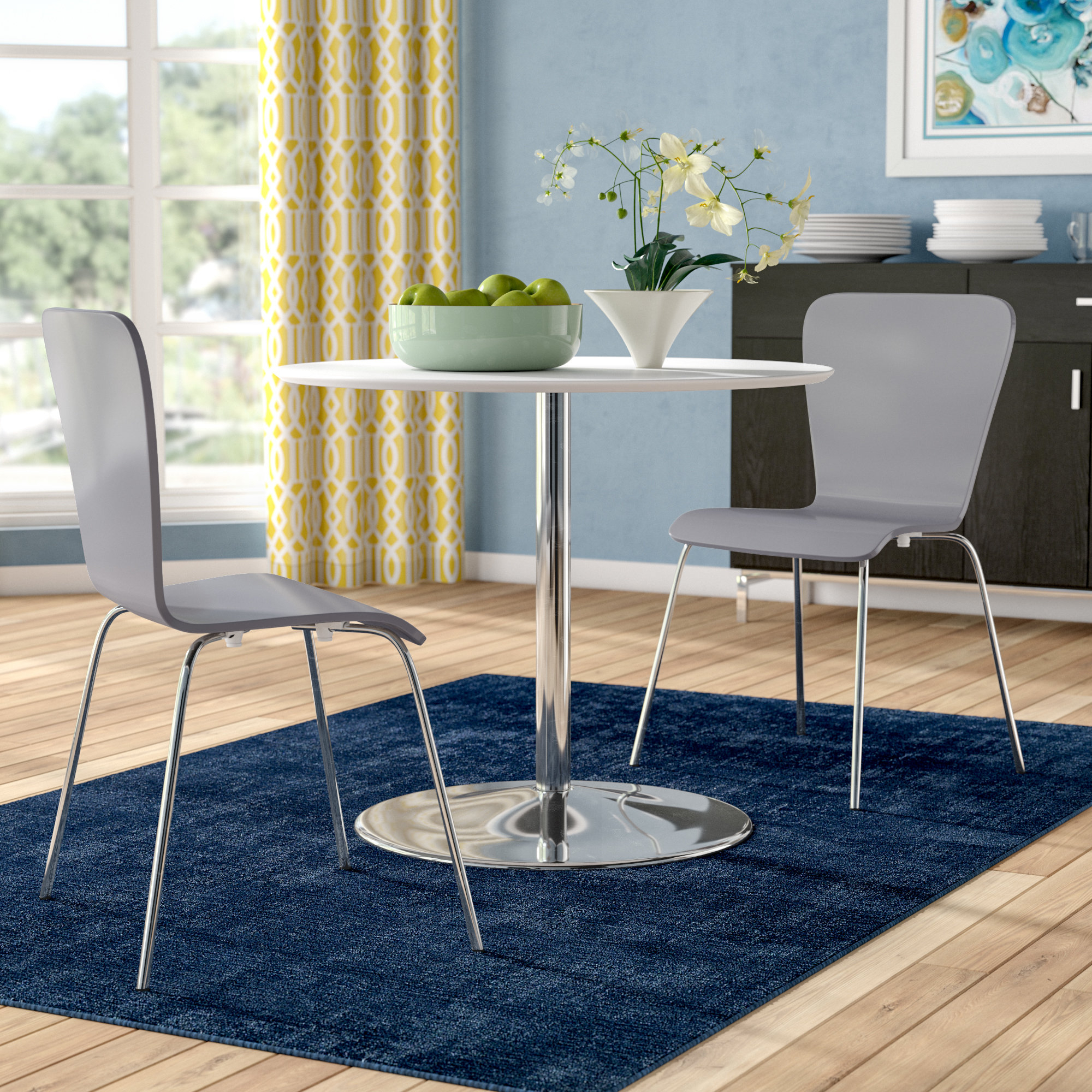 Most Recently Released Latitude Run Theotis 3 Piece Dining Set & Reviews (View 13 of 25)
