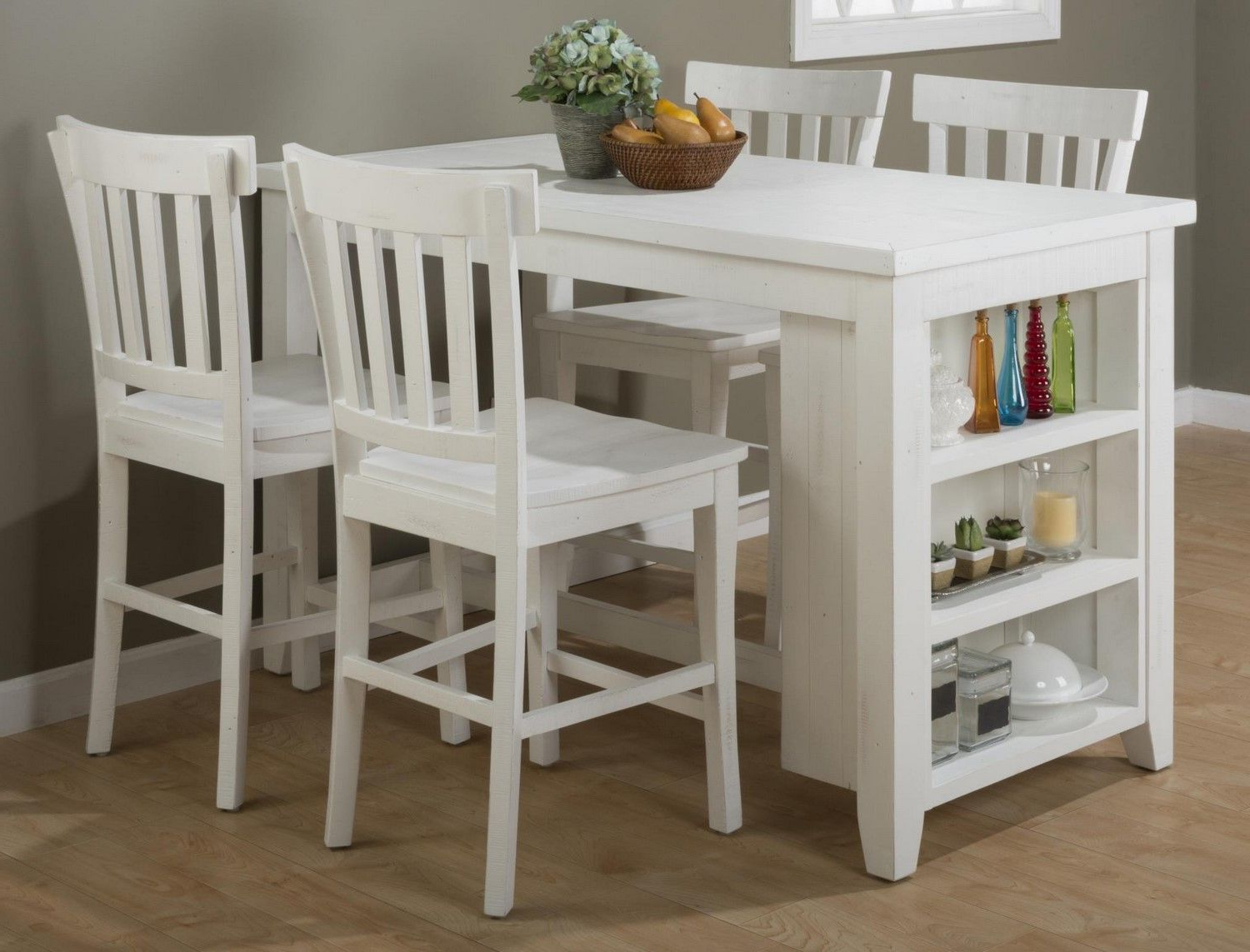 Most Recently Released Winsted 4 Piece Counter Height Dining Sets Regarding Jofran Furniture – Dining Table And Chairs Sets, Dining Room Sets (View 11 of 25)
