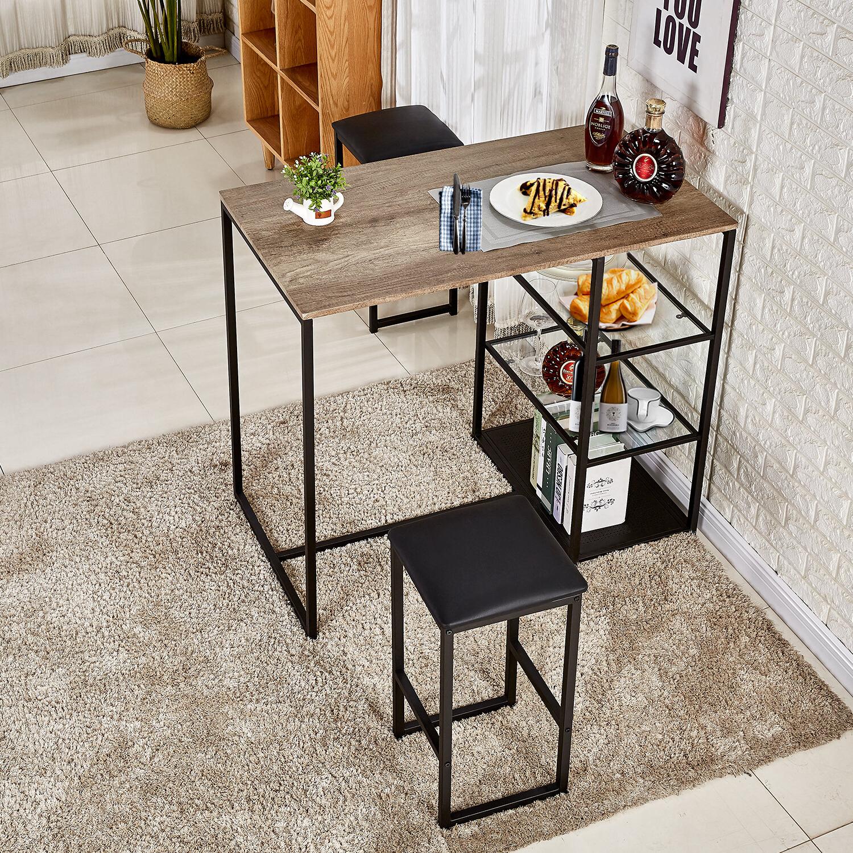Featured Photo of Ligon 3 Piece Breakfast Nook Dining Sets