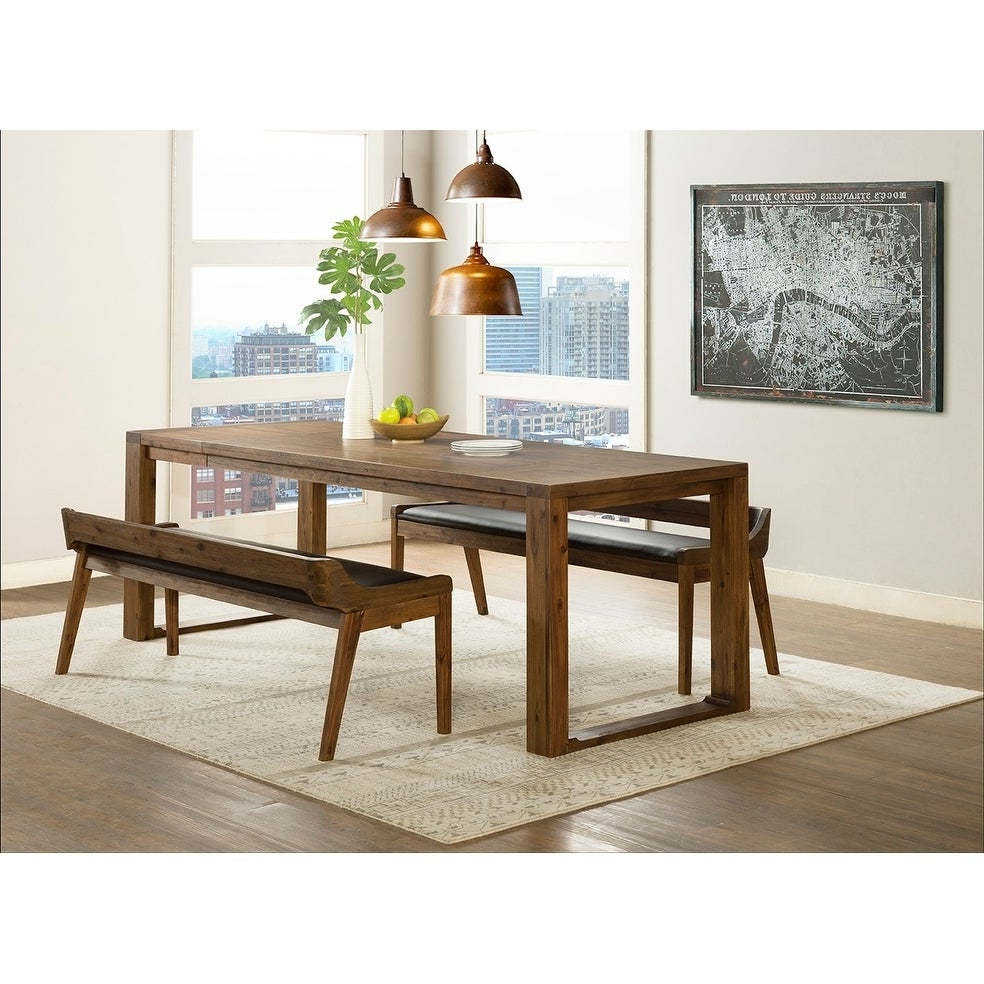 Most Up To Date Lonon 3 Piece Dining Sets For Shop Rasmus Mid Century Wood 3 Piece Dining Set – Free Shipping (View 3 of 25)