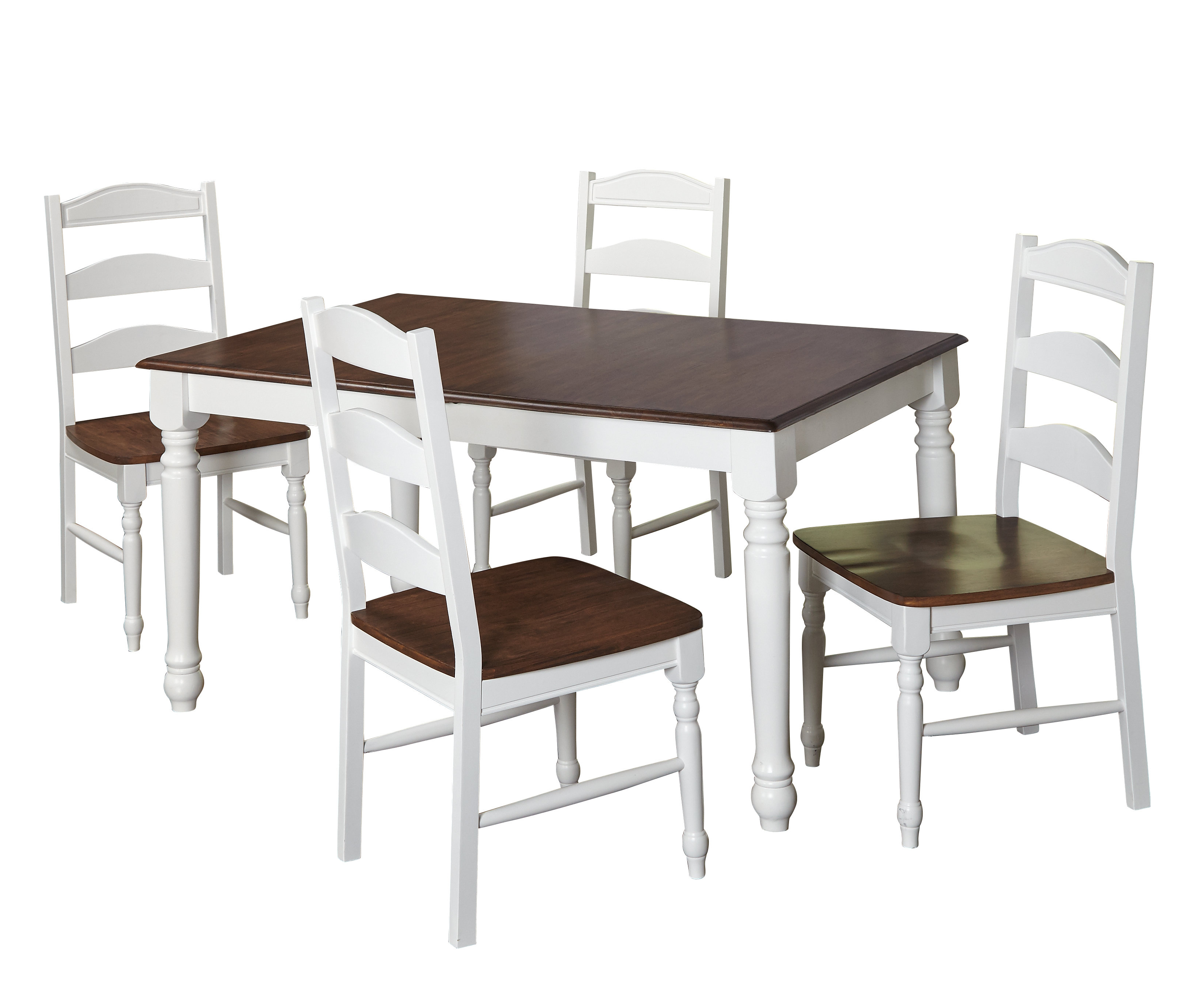 Most Up To Date Stouferberg 5 Piece Dining Sets Inside August Grove Fleurance 5 Piece Dining Set & Reviews (View 8 of 25)
