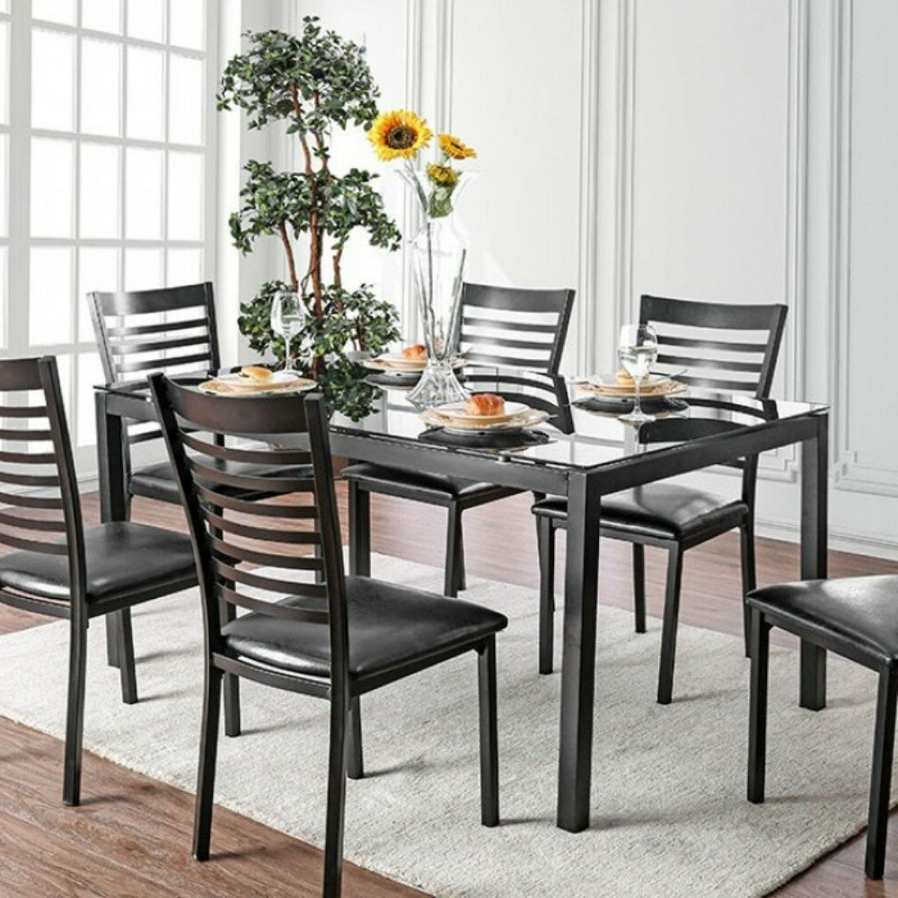 Mukai 5 Piece Dining Sets For Best And Newest Winston Porter Mitchell Contemporary 5 Piece Solid Wood Dining Set (View 9 of 25)