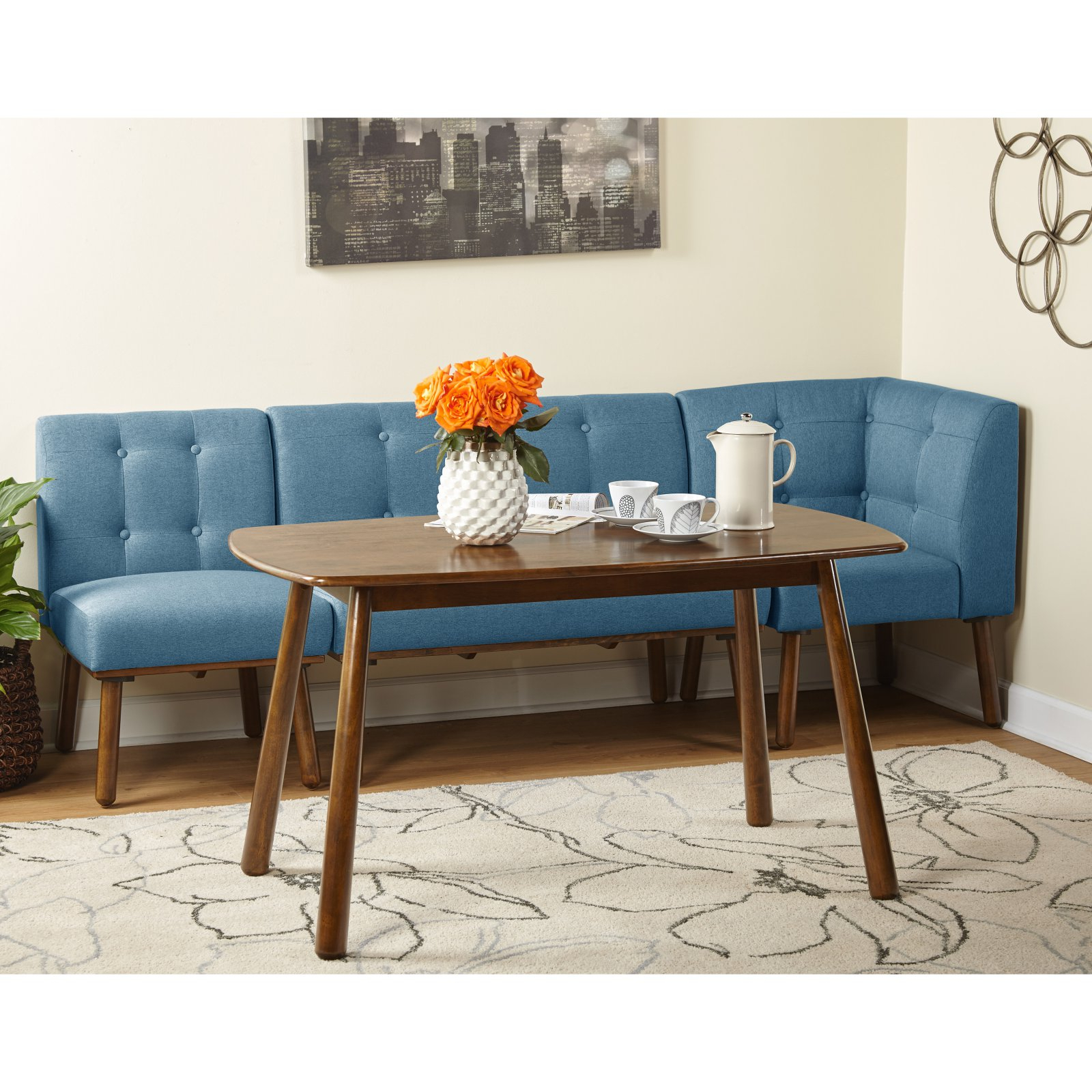 Mukai 5 Piece Dining Sets Regarding Fashionable Target Marketing Systems Playmate 4 Piece Dining Table Set Blue (View 11 of 25)