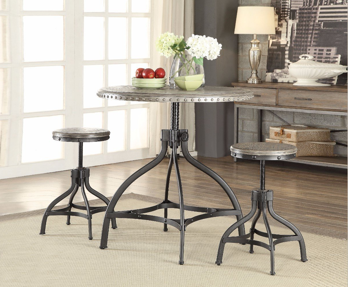 Mysliwiec 5 Piece Counter Height Breakfast Nook Dining Sets Throughout Well Known Williston Forge Mckibben 3 Piece Counter Height Breakfast Nook (View 15 of 25)