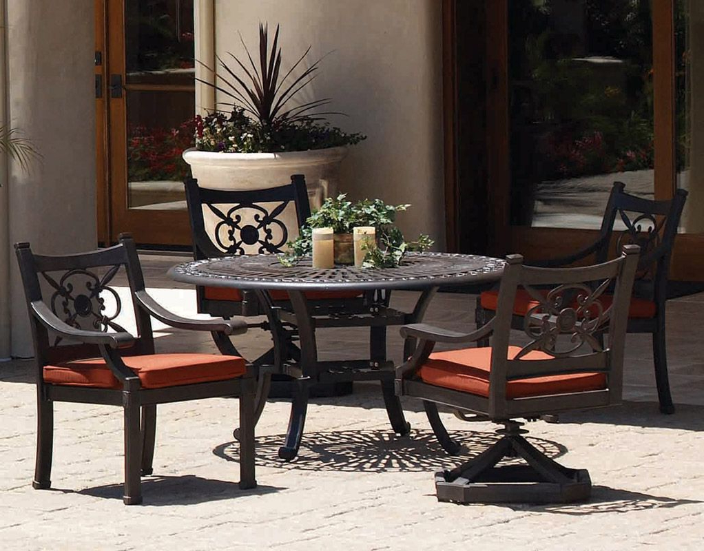 Newest Delmar 5 Piece Dining Sets Pertaining To 5 Pc (View 13 of 25)