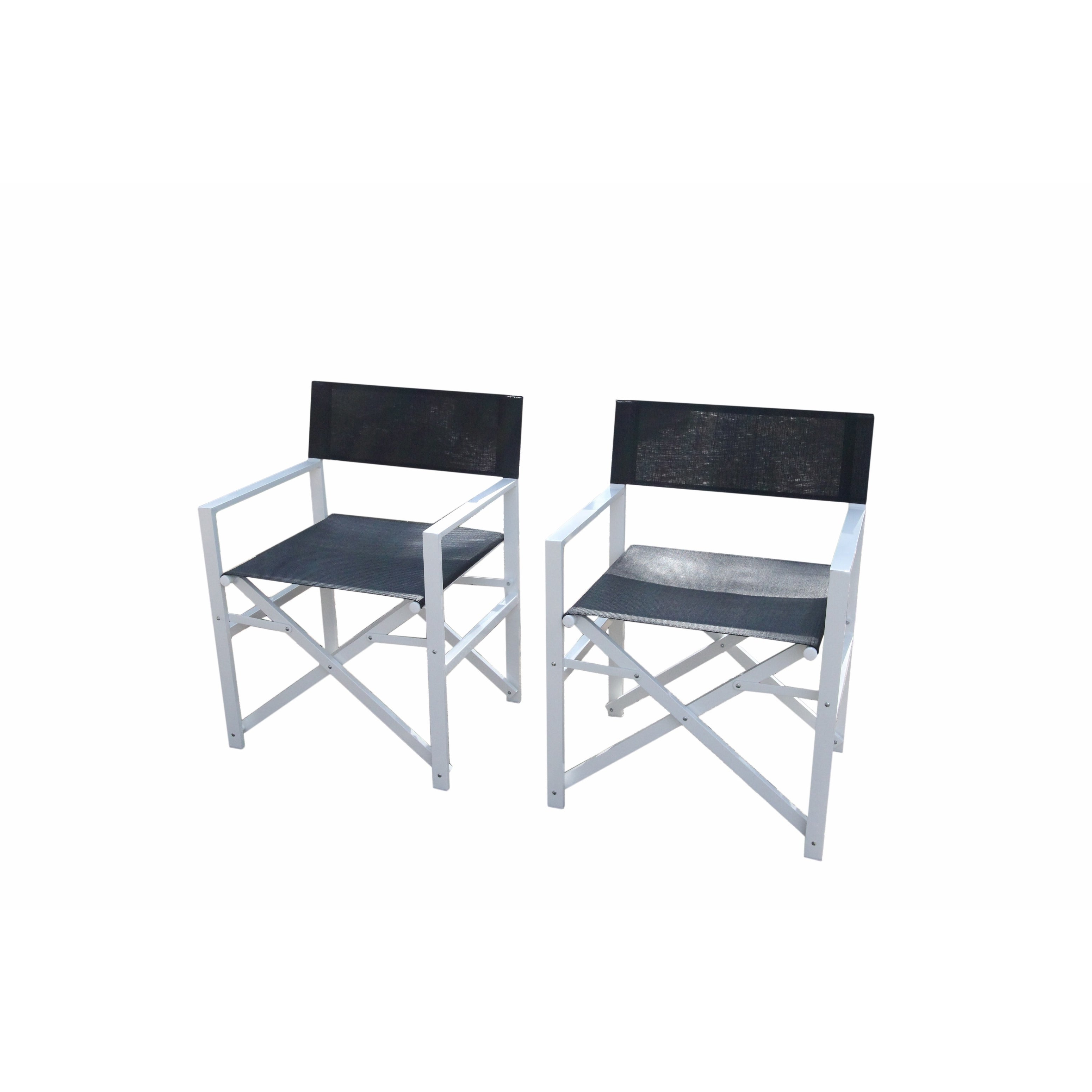 Newest Shop Del Mar White Director Chair 5 Piece Dining Set – Free Shipping For Delmar 5 Piece Dining Sets (View 14 of 25)