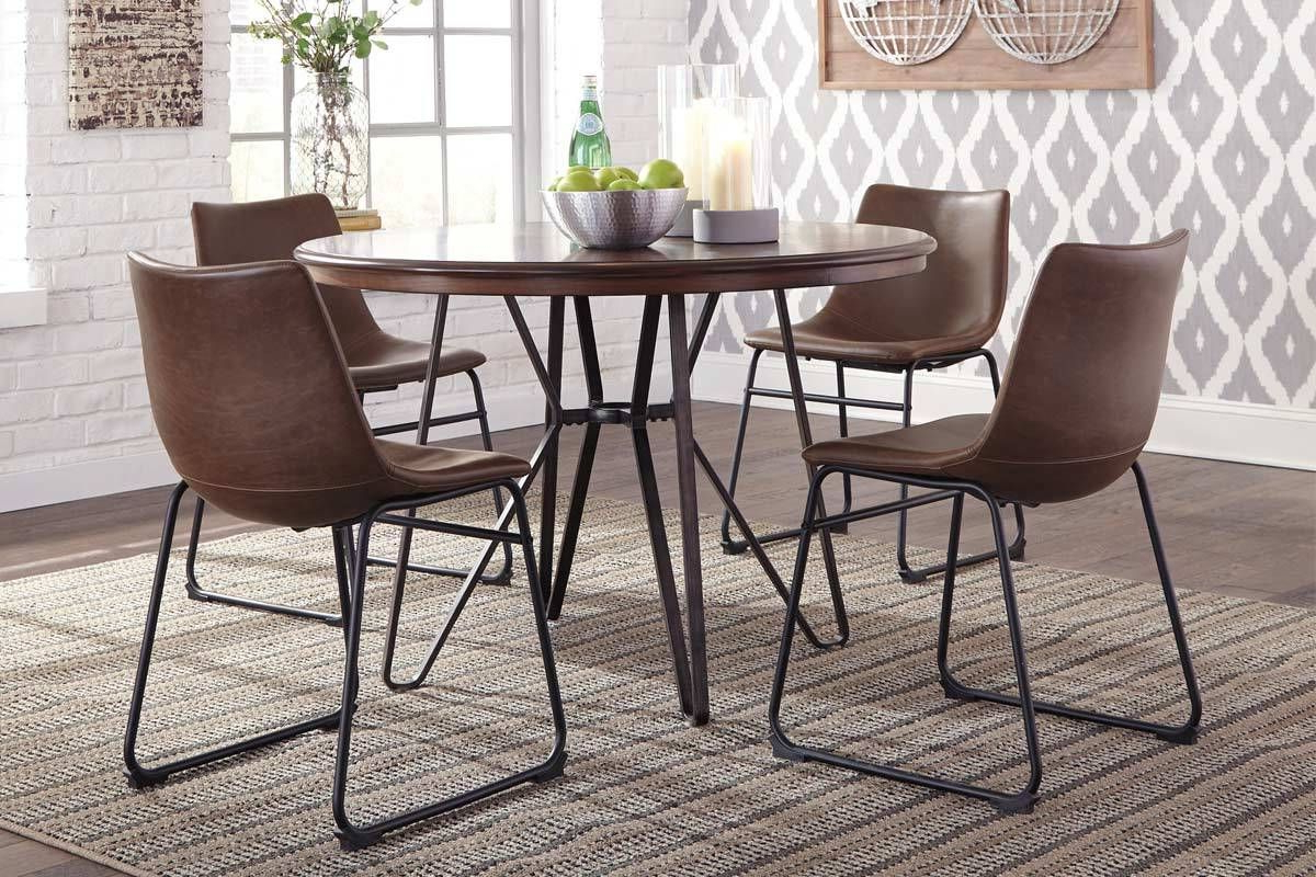 Newest Weatherholt Dining Tables With Regard To Ashley  Centiar Collection (View 12 of 25)