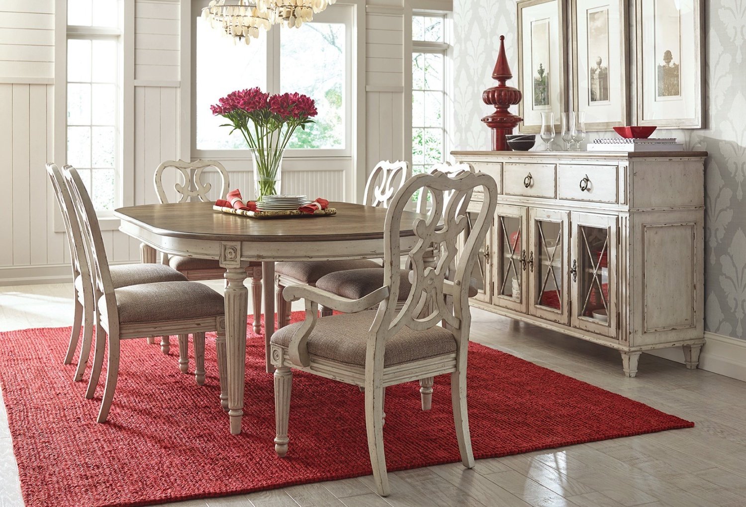 North Reading 5 Piece Dining Table Sets With Regard To Famous American Drew Furniture Of North Carolina (View 16 of 25)