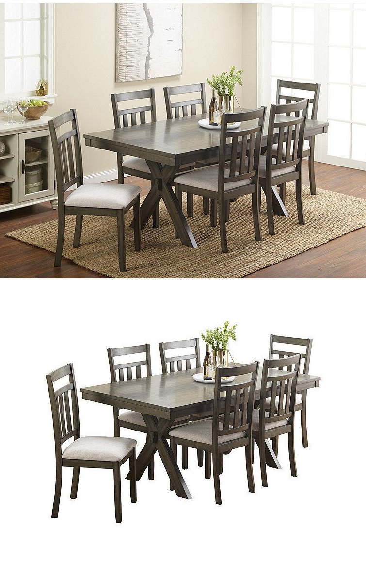 Noyes 5 Piece Dining Sets Pertaining To Most Recently Released Dining Sets 107578: New Mcleland Design Giavonna Dining Table Gray (View 12 of 25)