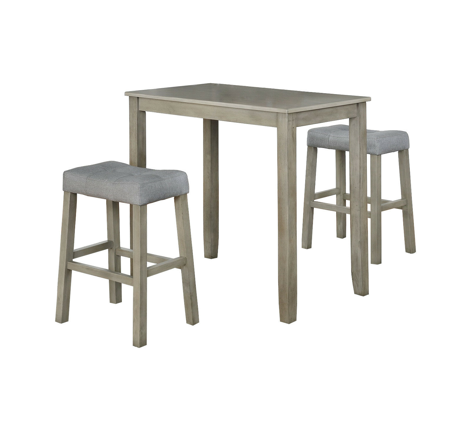 Nutter 3 Piece Dining Sets for Trendy Ophelia & Co. Alejandra 3 Piece Solid Wood Dining Set & Reviews