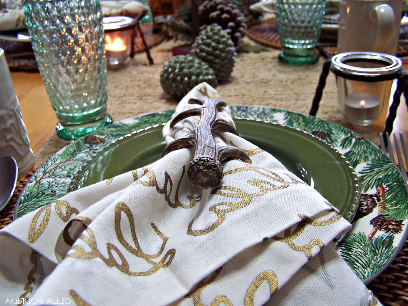 Olla Podrida: Dining In The Northwoods Throughout Latest Northwoods 3 Piece Dining Sets (View 18 of 25)