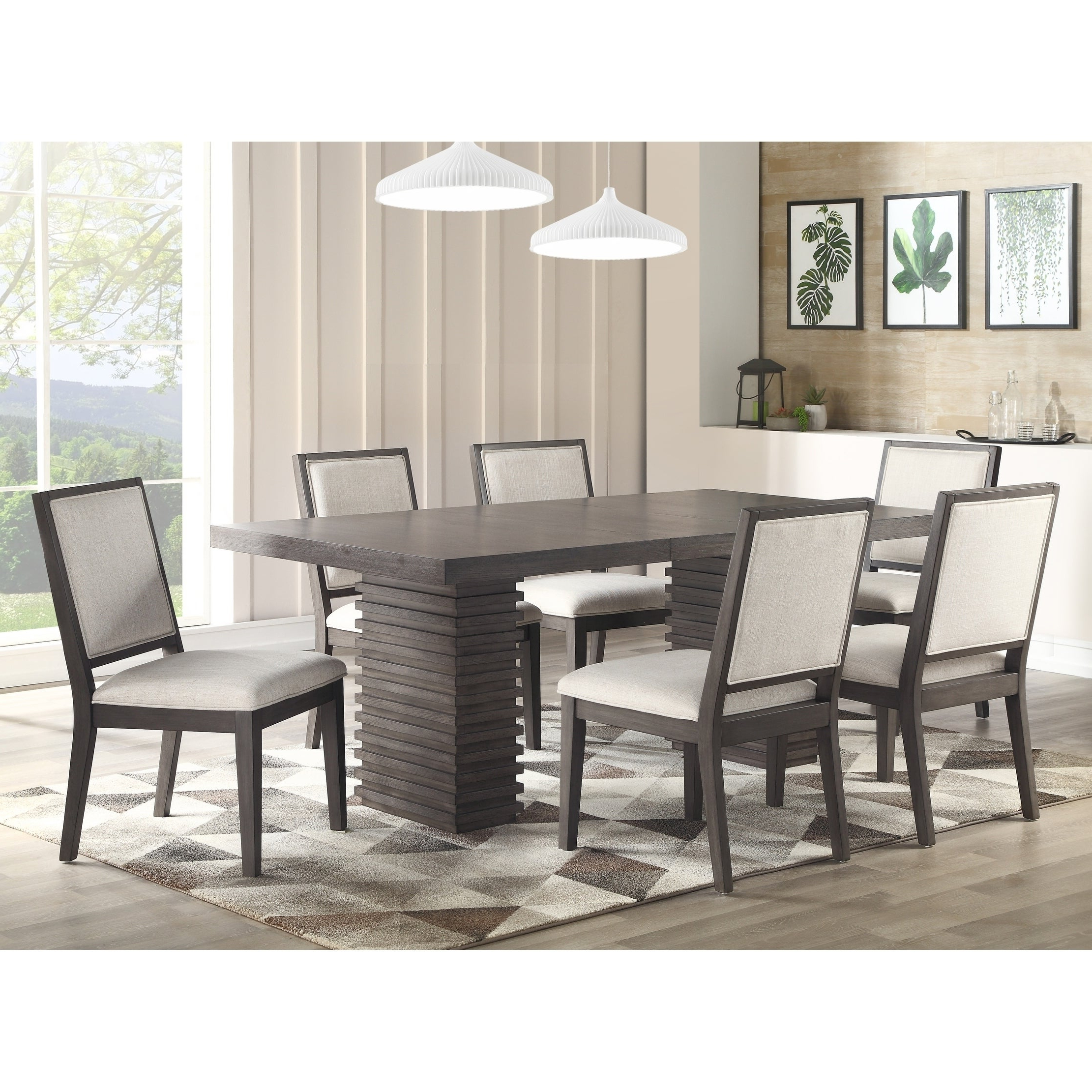 Osterman 6 Piece Extendable Dining Sets (Set Of 6) Throughout Preferred Buy 6 Piece Sets Kitchen & Dining Room Sets Online At Overstock (View 2 of 25)