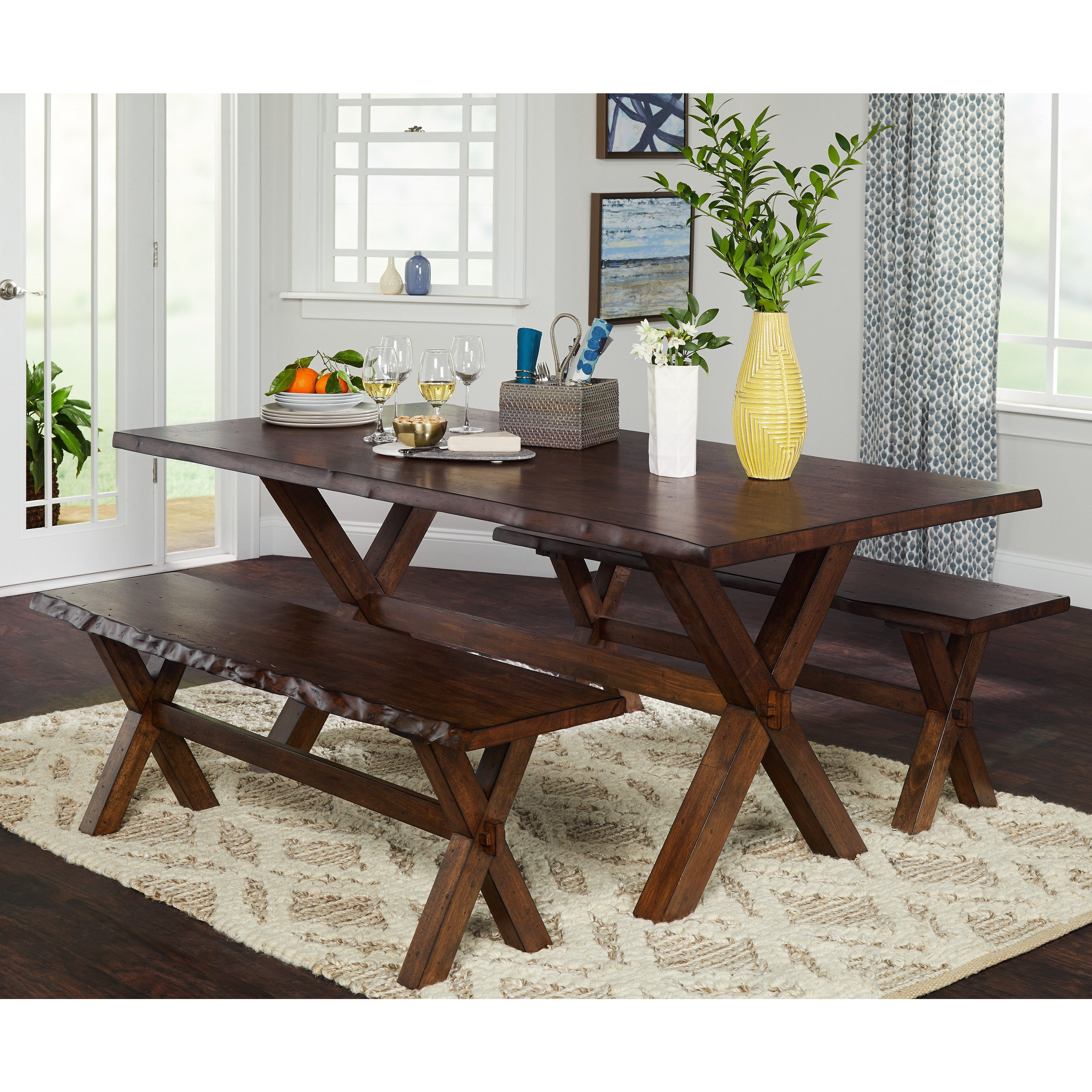 Our Throughout Best And Newest Falmer 3 Piece Solid Wood Dining Sets (View 7 of 25)