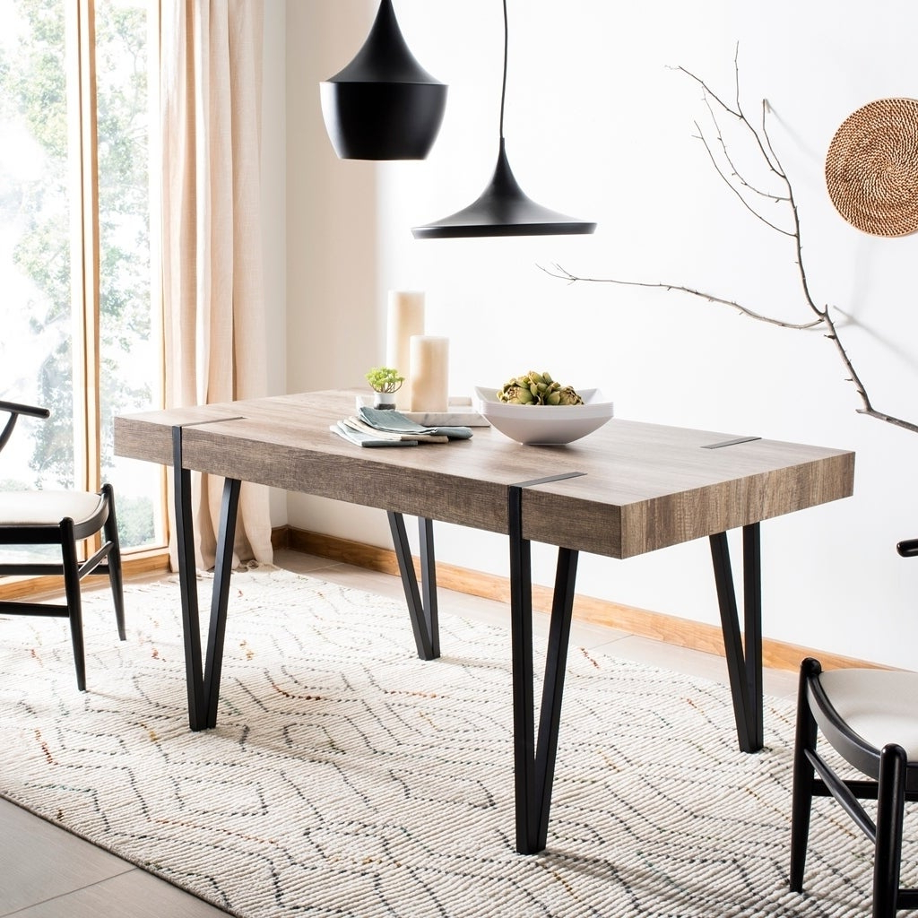 Our Throughout Trendy Falmer 3 Piece Solid Wood Dining Sets (View 13 of 25)