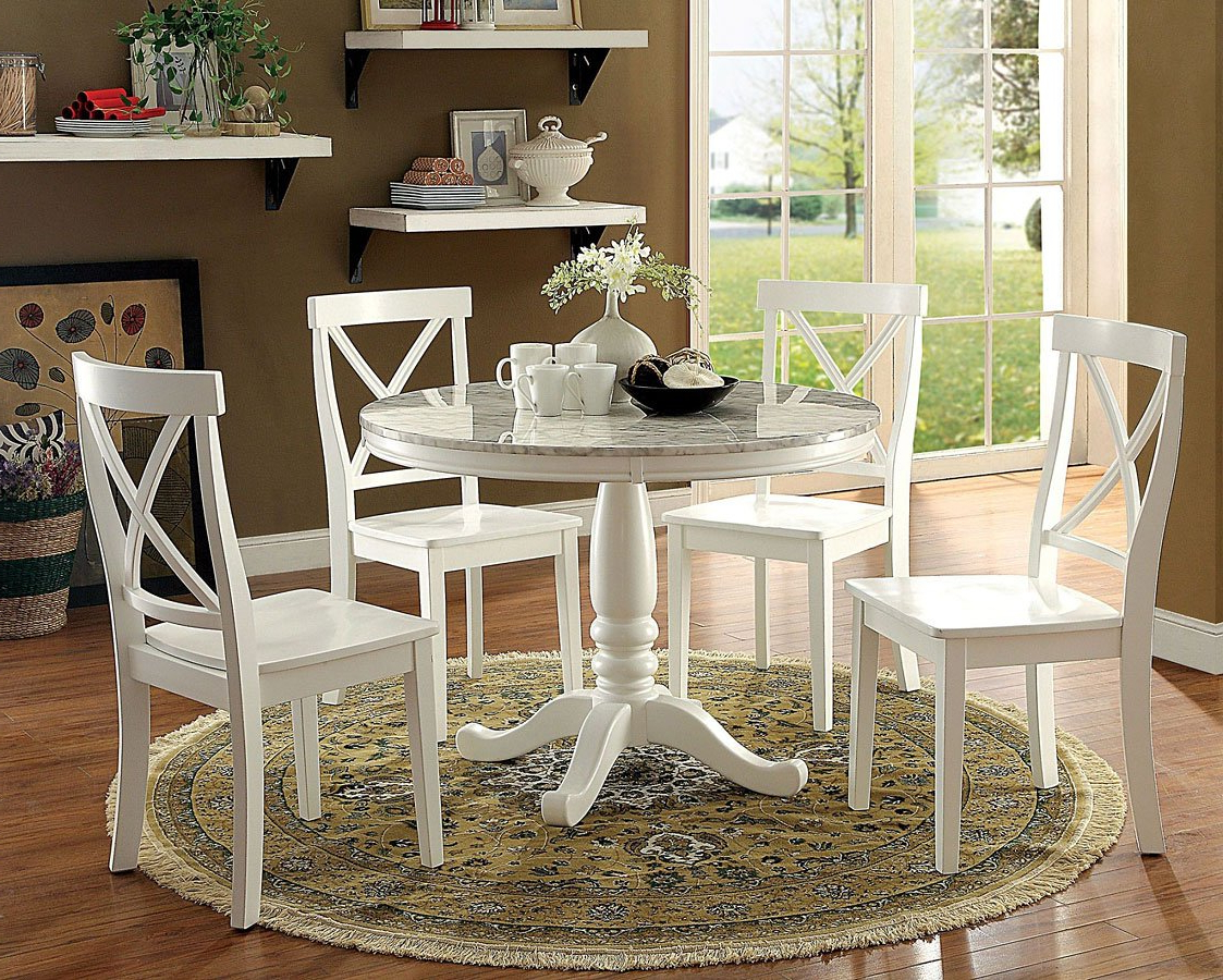 Penelope Dining Room Setfurniture Of America (View 12 of 25)