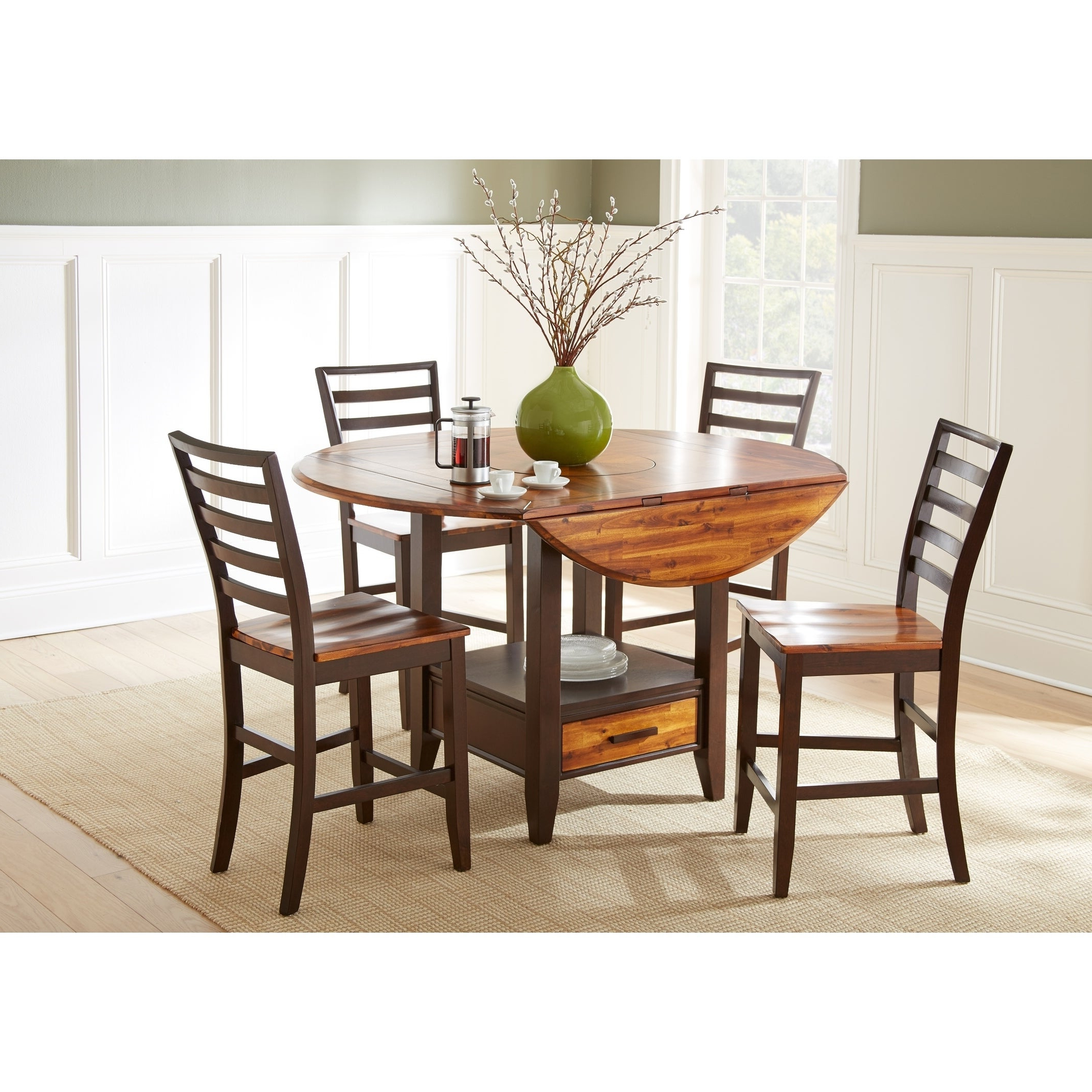 Popular Buy Farmhouse Kitchen & Dining Room Sets Online At Overstock (View 8 of 25)