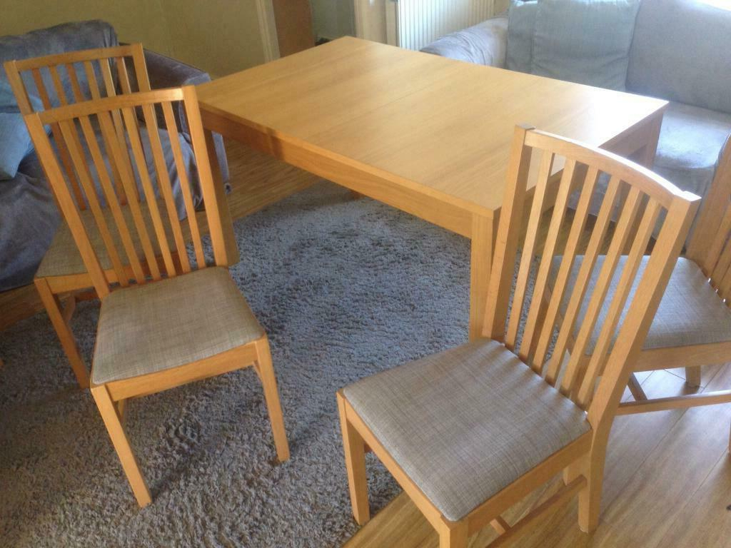 Popular Ikea Extendable Dining Table And Chairs (View 17 of 25)