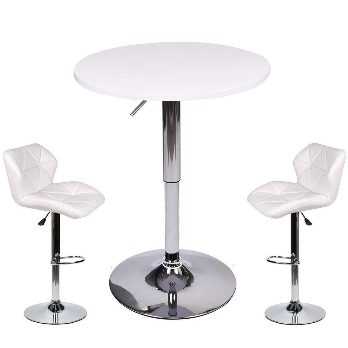 Popular Kaya 3 Piece Dining Sets For Cheap Pub Table White, Find Pub Table White Deals On Line At Alibaba (View 19 of 25)