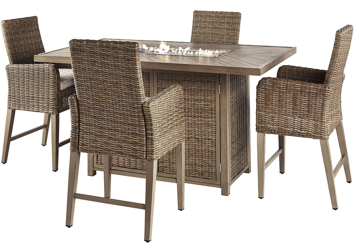 Preferred Ashley Furniture Homestore – Independently Owned And Operated Regarding Berrios 3 Piece Counter Height Dining Sets (View 17 of 25)