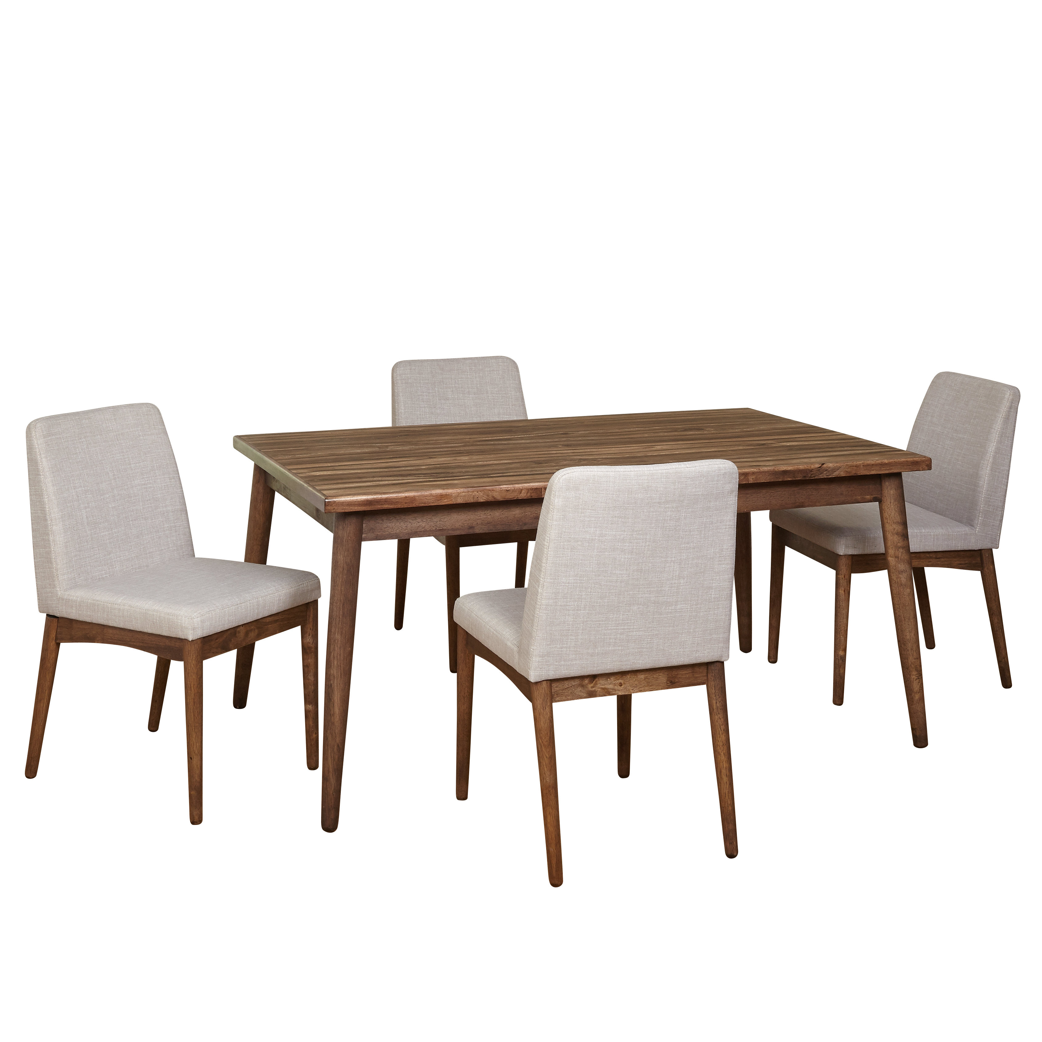 Preferred Liles 5 Piece Breakfast Nook Dining Sets Regarding Lydia 5 Piece Dining Set & Reviews (View 23 of 25)