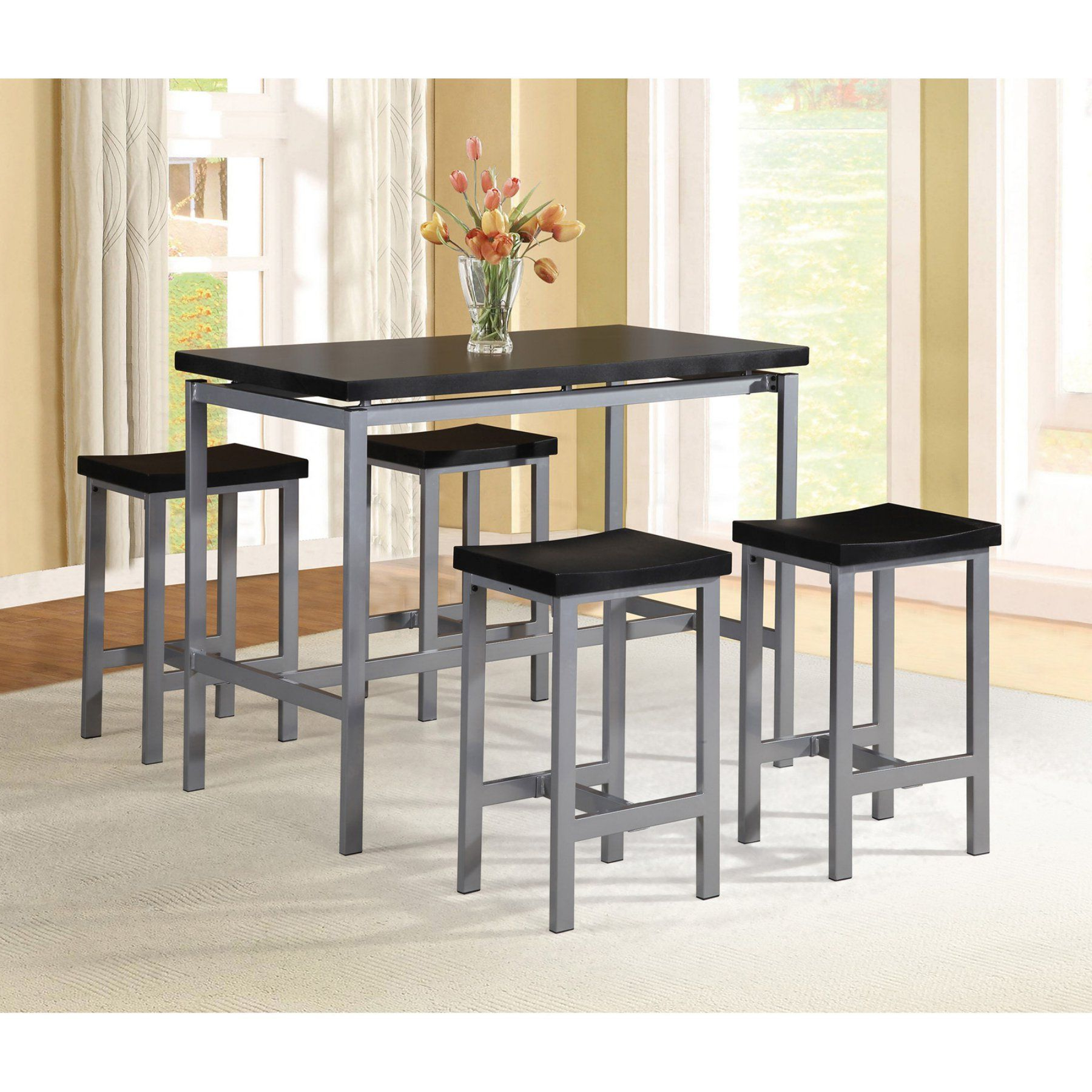 Preferred Milton Greens Stars Aaron 5 Piece Counter Height Dining Set – 7847 For Denzel 5 Piece Counter Height Breakfast Nook Dining Sets (View 20 of 25)