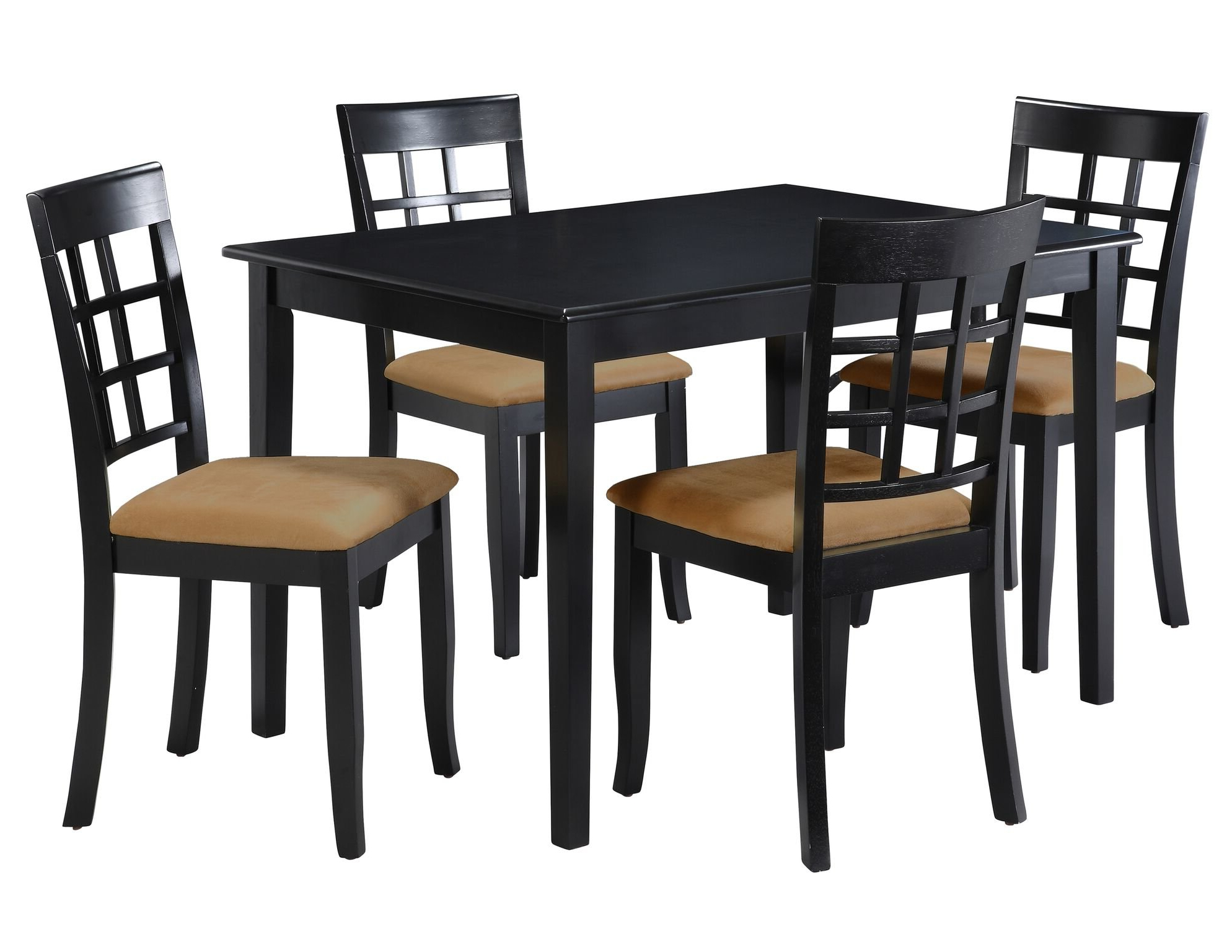 Preferred Pattonsburg 5 Piece Dining Sets Within Oneill 5 Piece Windown Back Dining Set & Reviews (View 19 of 25)